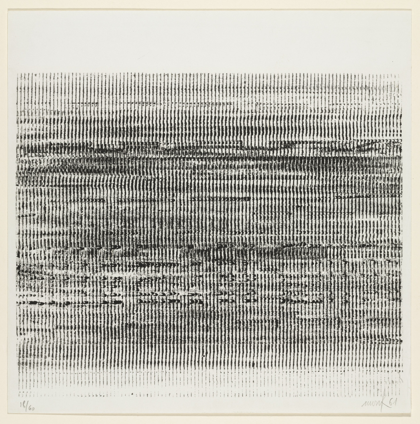 Heinz Mack. Untitled. 1961