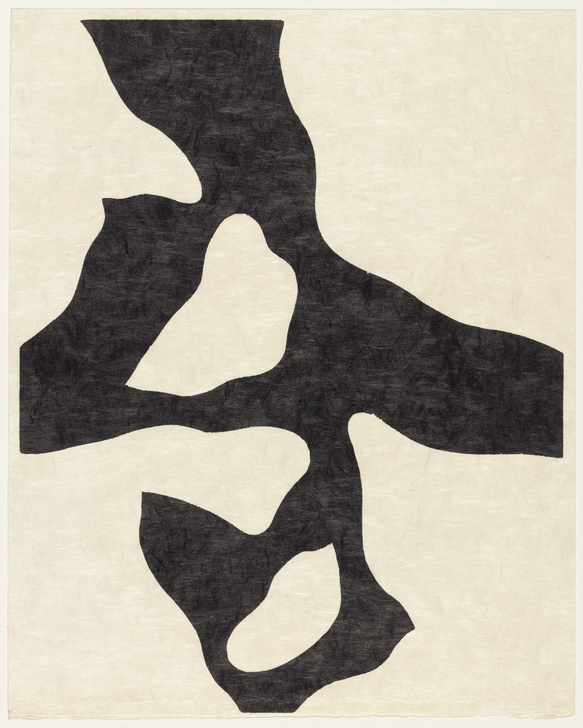 Jean (Hans) Arp. Flower Figure, Fall (plate, supplementary suite) from Dreams and Projects. 1951–52, published 1952