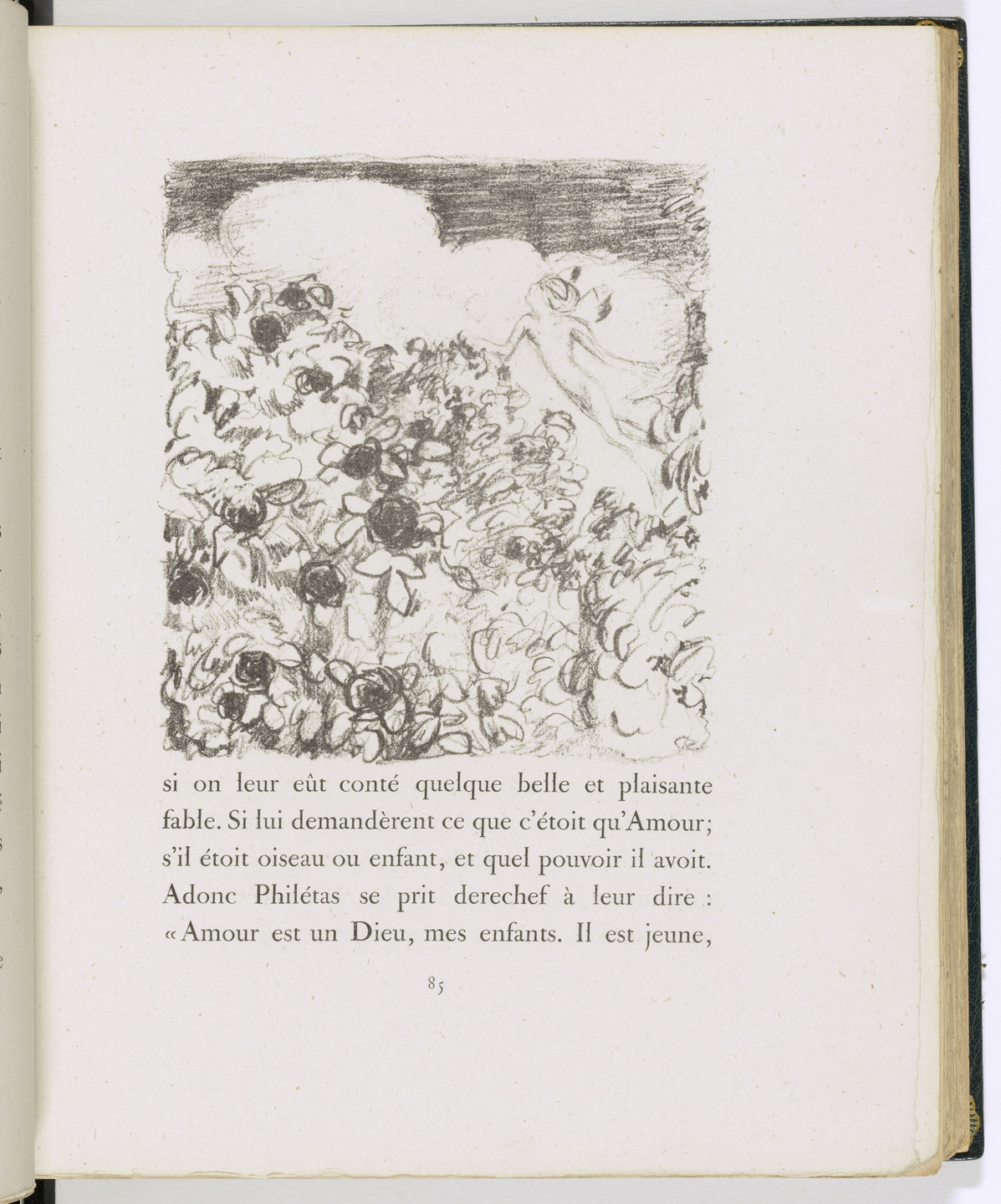 Pierre Bonnard. In-text plate (page 85) from Daphnis et Chloé. 1902