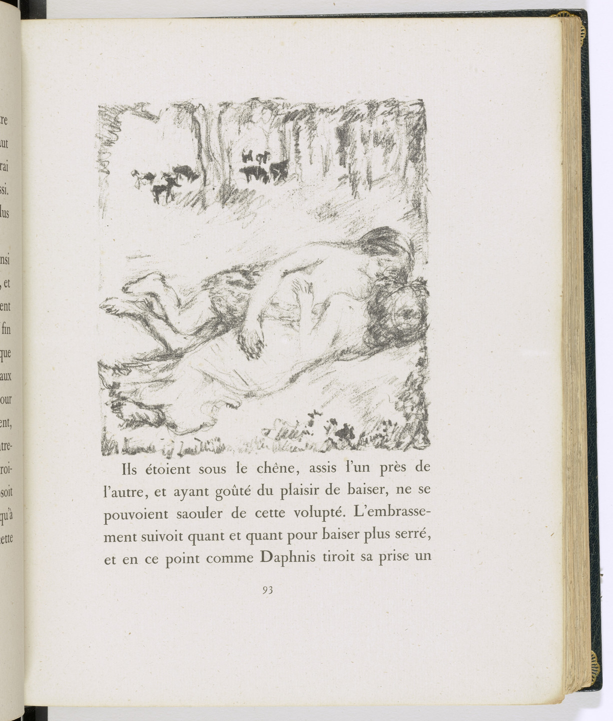 Pierre Bonnard. In-text plate (page 93) from Daphnis et Chloé. 1902