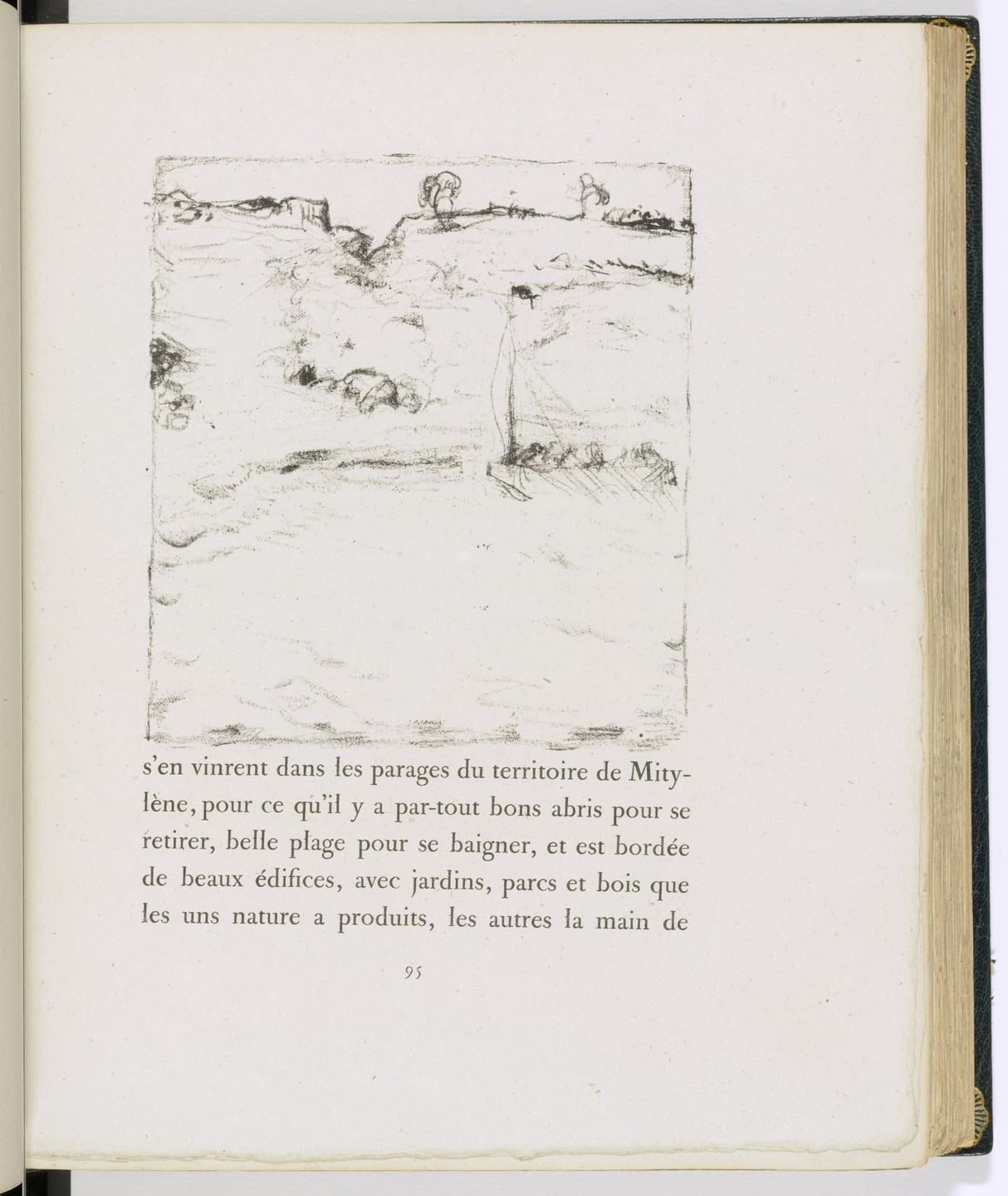 Pierre Bonnard. In-text plate (page 95) from Daphnis et Chloé. 1902
