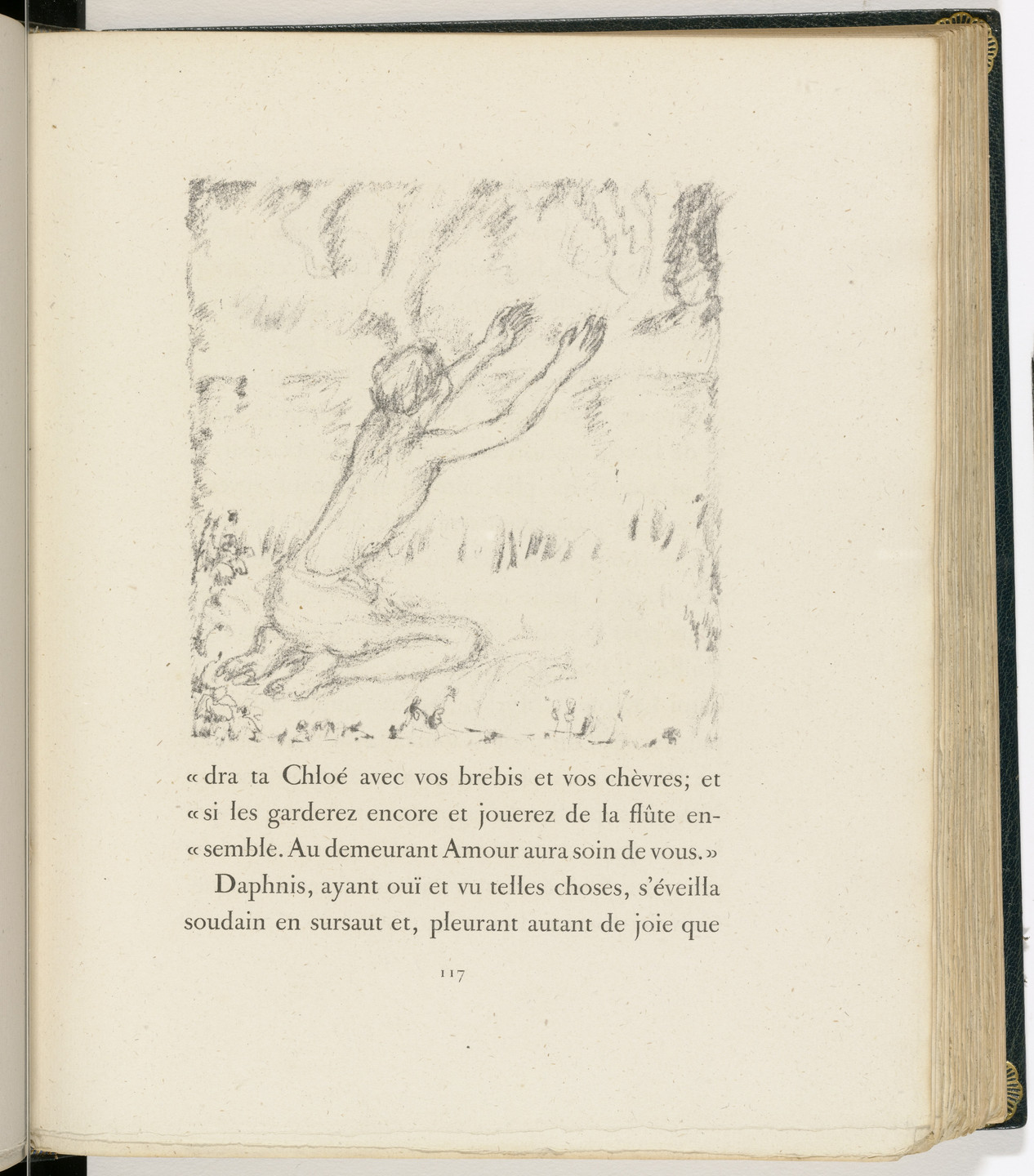 Pierre Bonnard. In-text plate (page 117) from Daphnis et Chloé. 1902