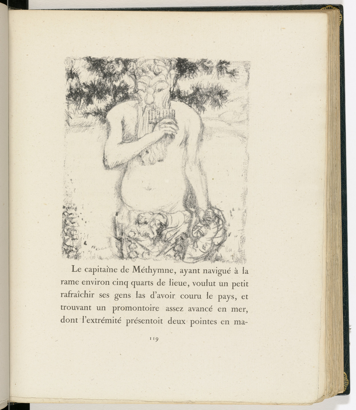Pierre Bonnard. In-text plate (page 119) from Daphnis et Chloé. 1902