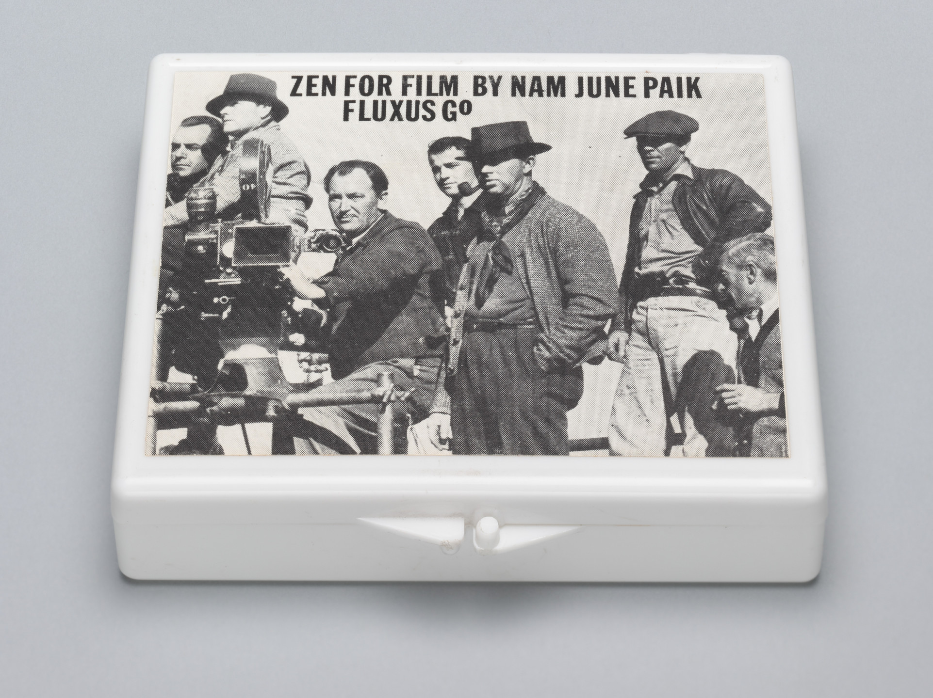 Nam June Paik. Zen for Film from Fluxkit. 1965