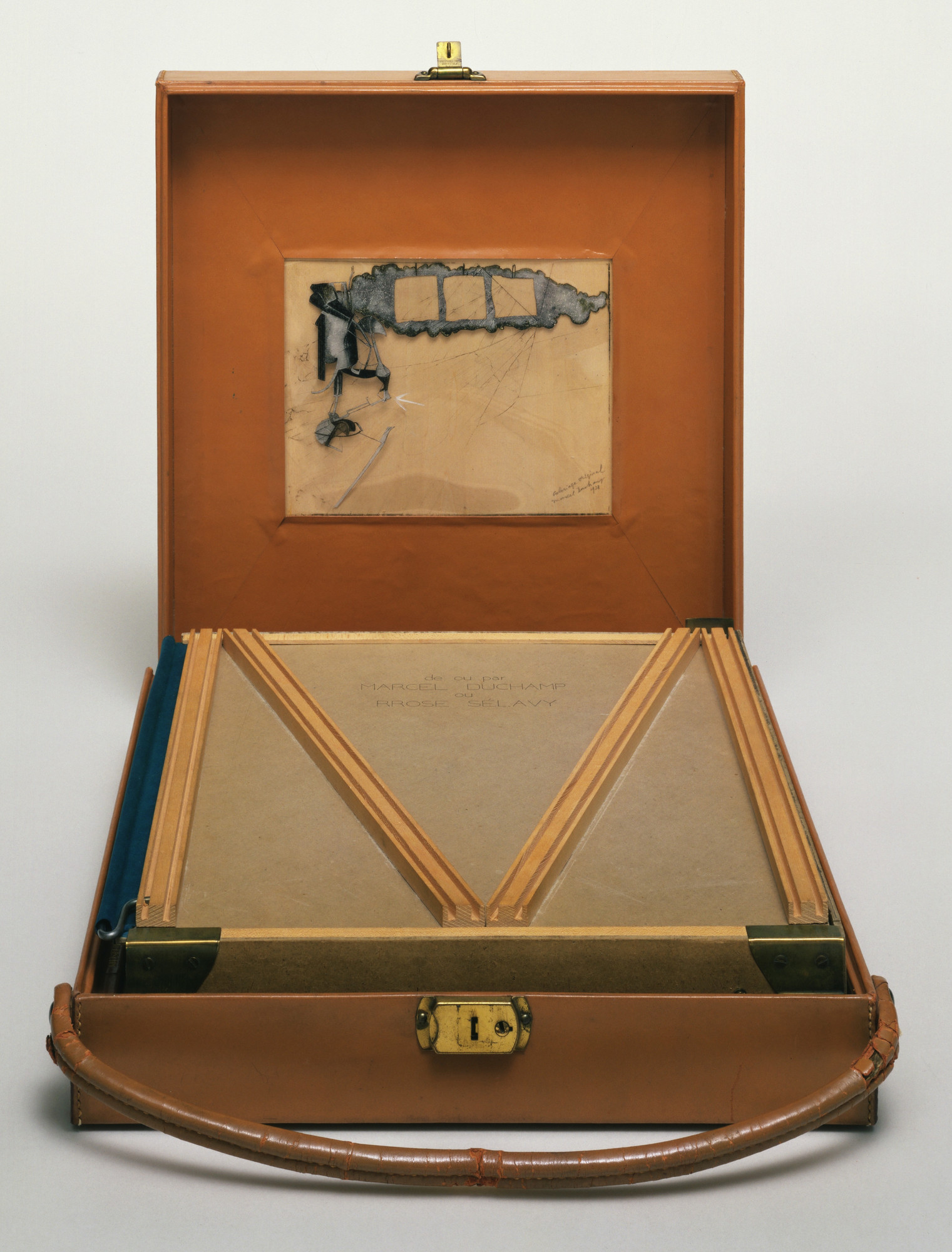 Marcel Duchamp. Box in a Valise (From or by Marcel Duchamp or Rrose Sélavy). 1935-41