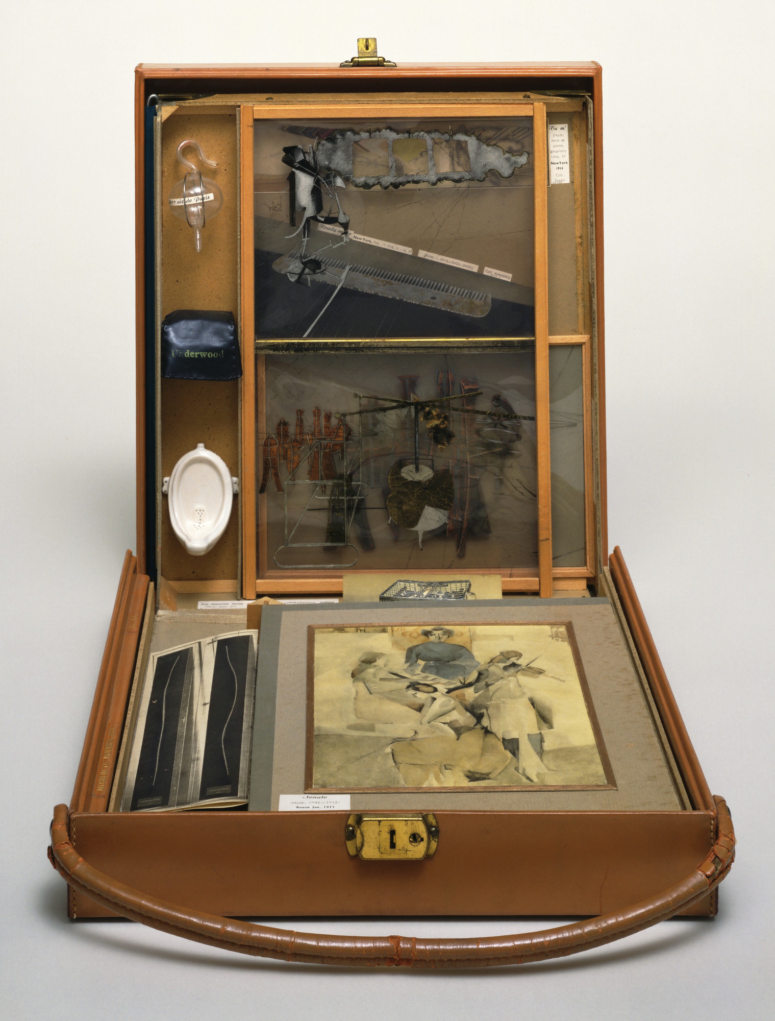 Marcel Duchamp. Box in a Valise (From or by Marcel Duchamp or Rrose  Sélavy). 1935-41 | MoMA