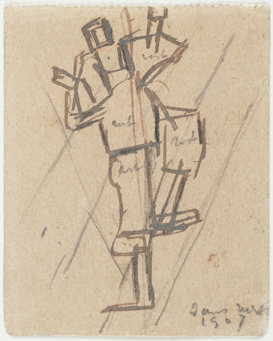 Theo van Doesburg. Study for Rhythm of a Russian Dance. 1917–18