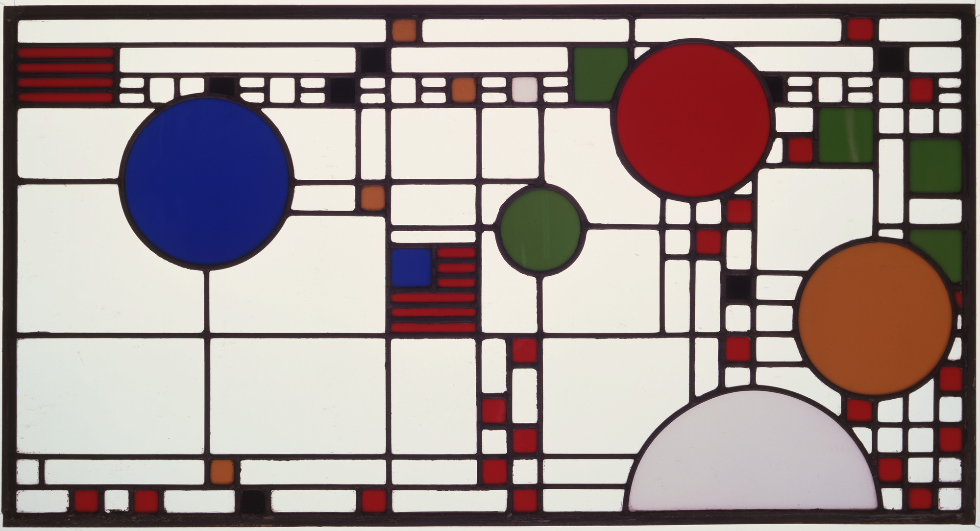 Frank Lloyd Wright. Avery Coonley Playhouse, Riverside, Illinois (Clerestory windows). 1912