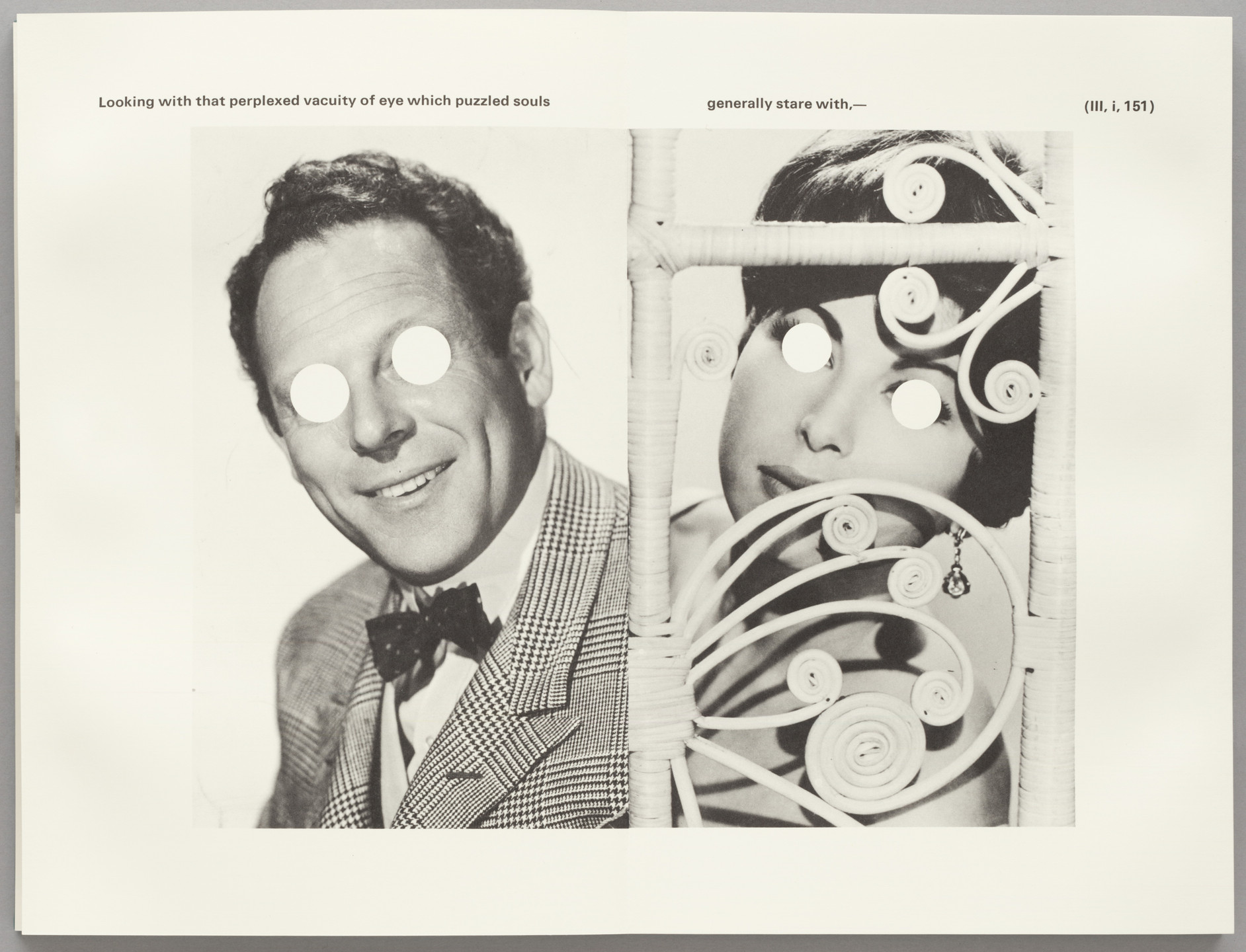 John Baldessari. The Life and Opinions of Tristram Shandy, Gentleman. 1988