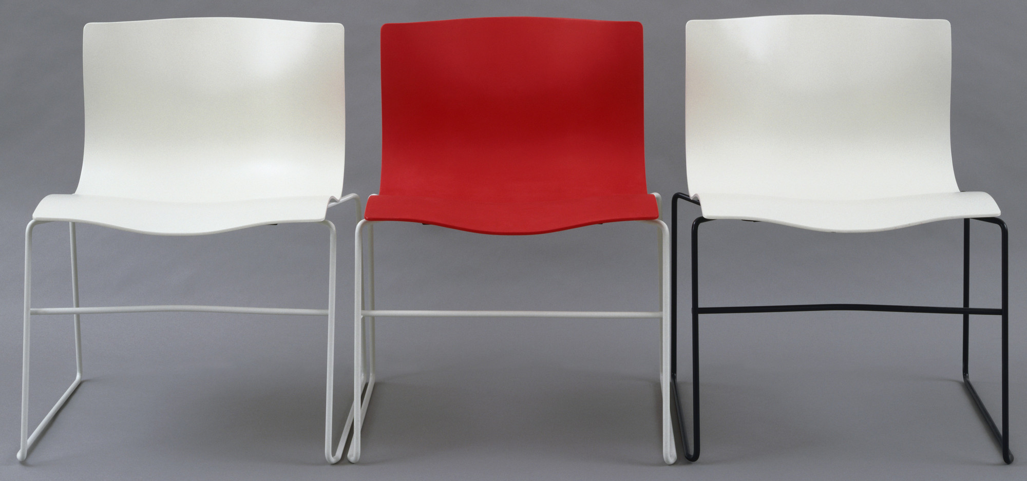Massimo Vignelli, Lella Vignelli, David Law. Handkerchief Chair. 1985