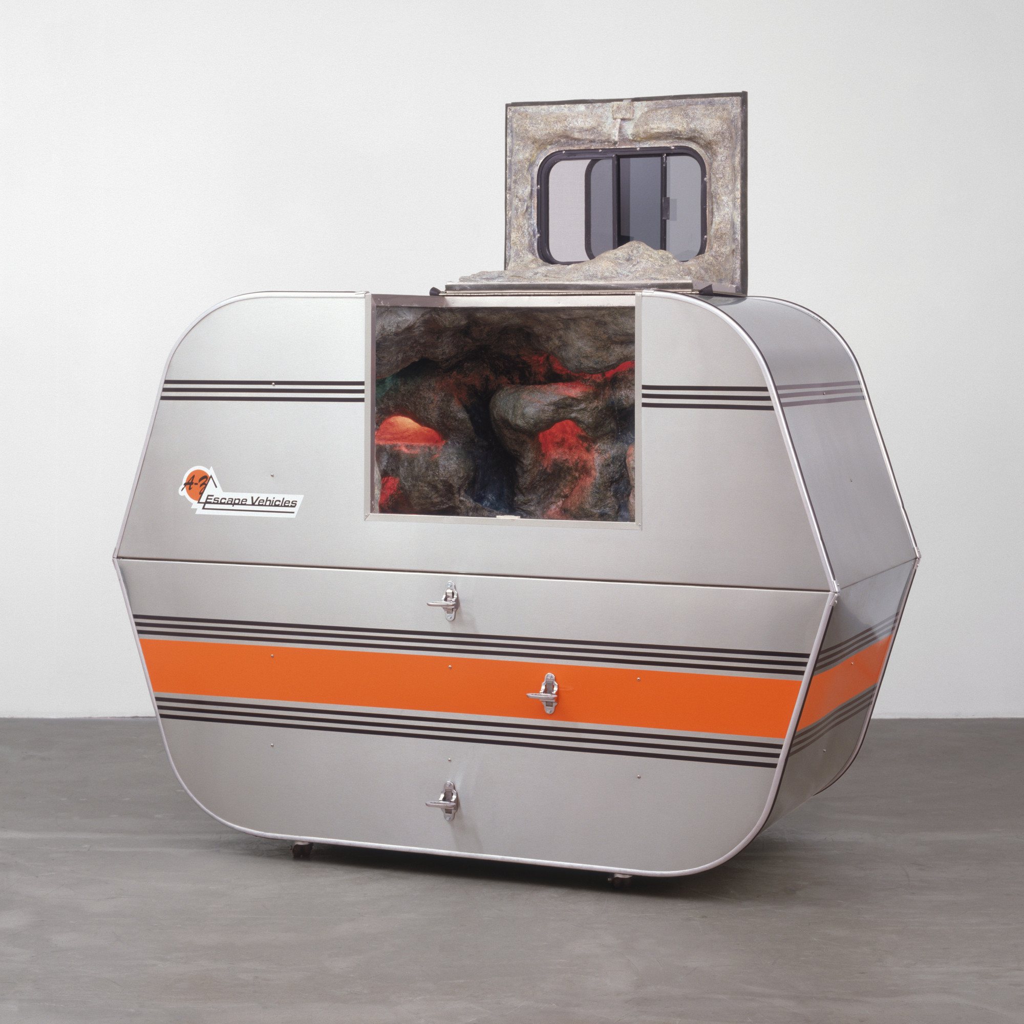 Andrea Zittel. A-Z Escape Vehicle: Customized by Andrea Zittel. 1996