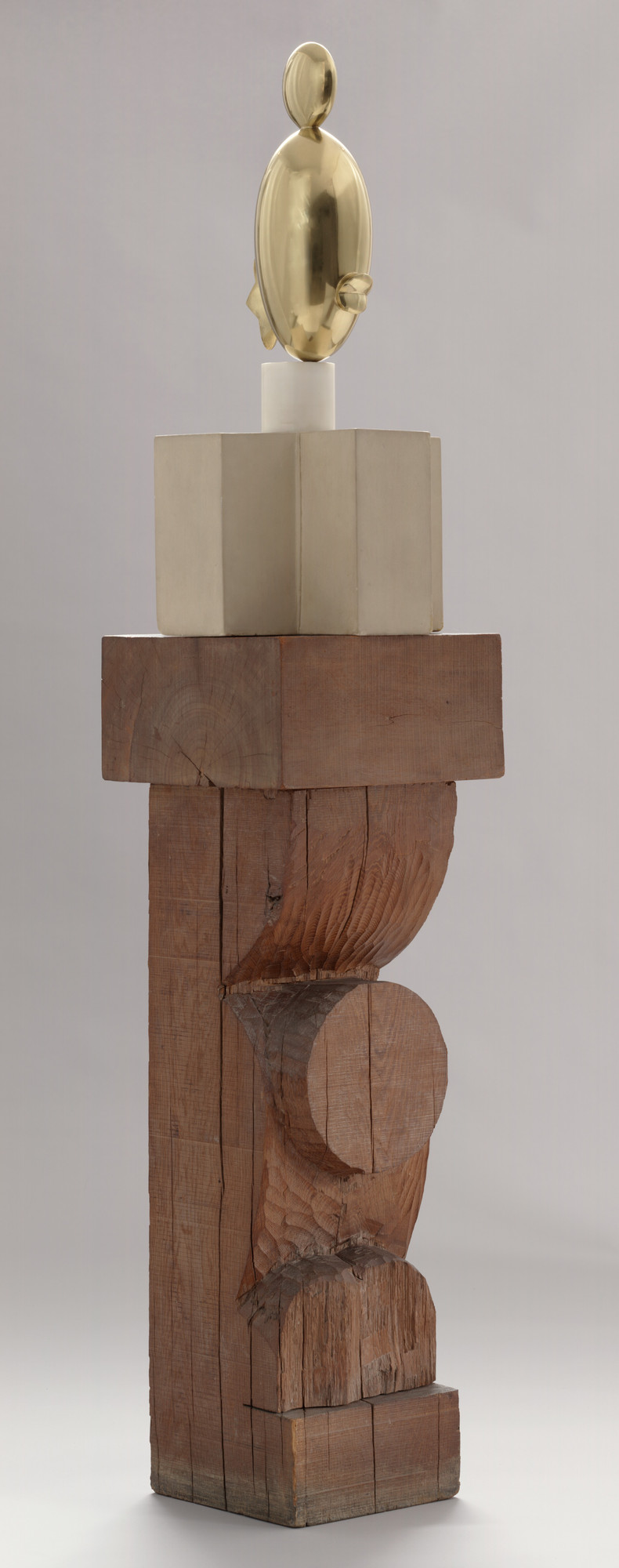 Constantin Brancusi. Blond Negress II. Paris 1933 (after a marble of 1928)