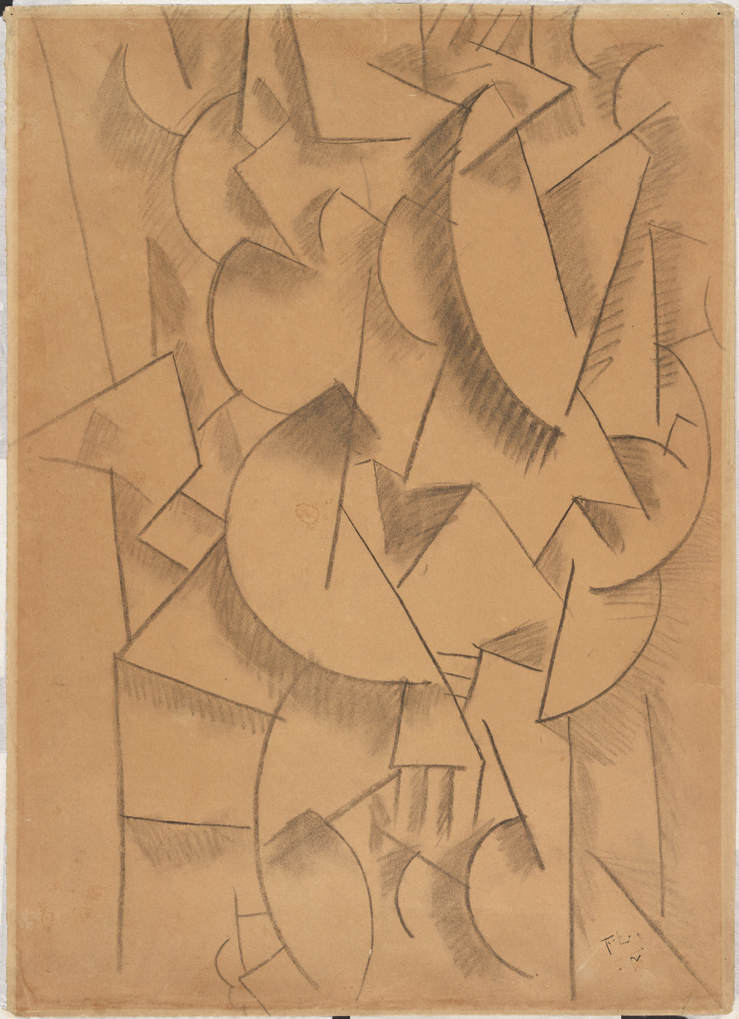 Fernand Léger. Contrast of Forms. 1912
