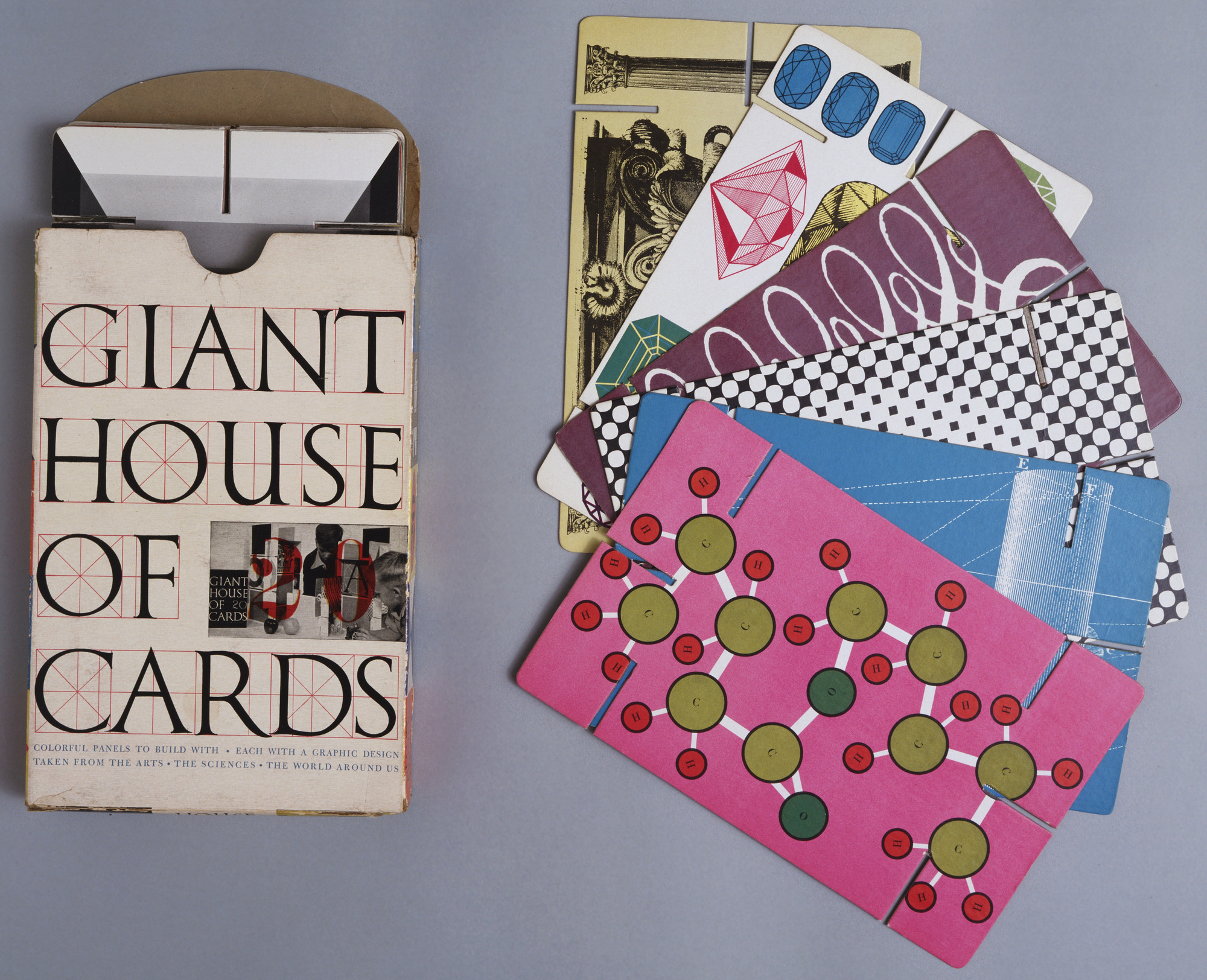Charles Eames, Ray Eames. House of Cards (giant size). 1954