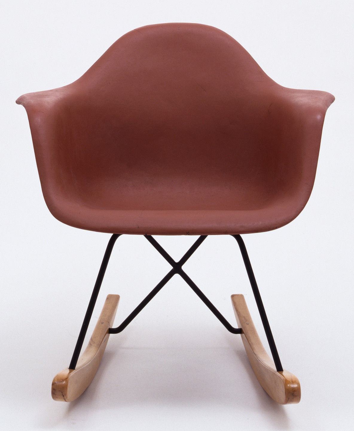 Charles Eames, Ray Eames, University of California Los Angeles Team. Prototype for Rocking Armchair. 1948