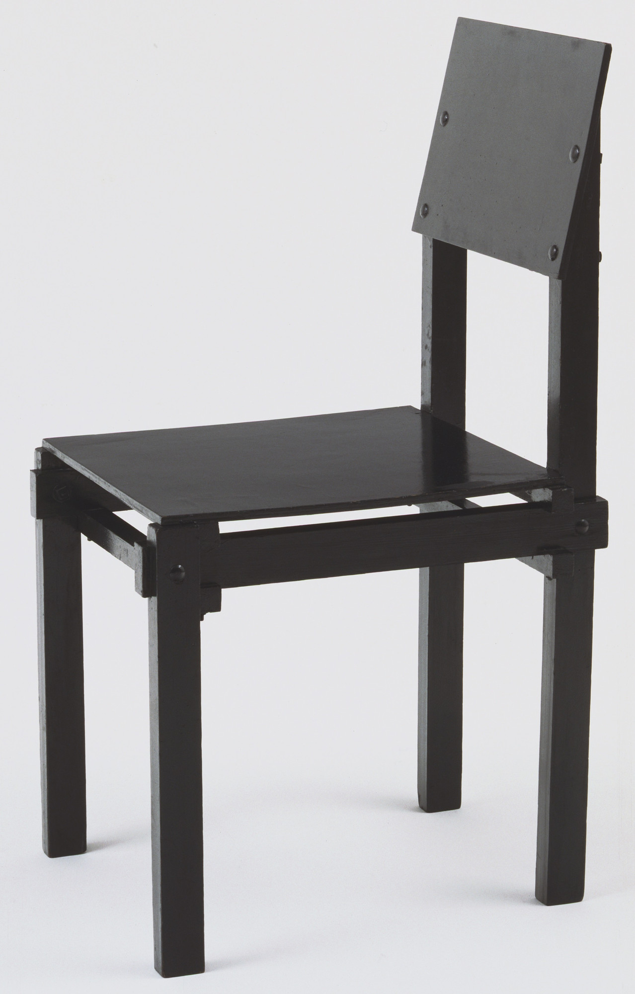 Gerrit Rietveld. Military Side Chair. 1923