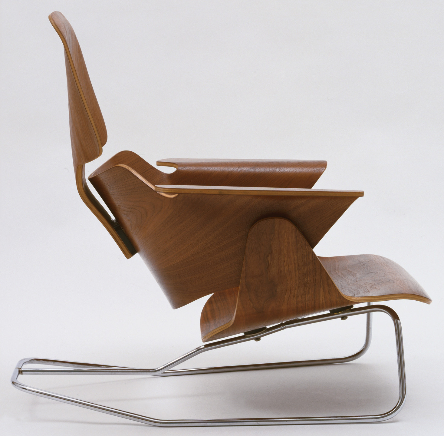 Charles Eames, Ray Eames. Experimental Lounge Chair. c. 1944