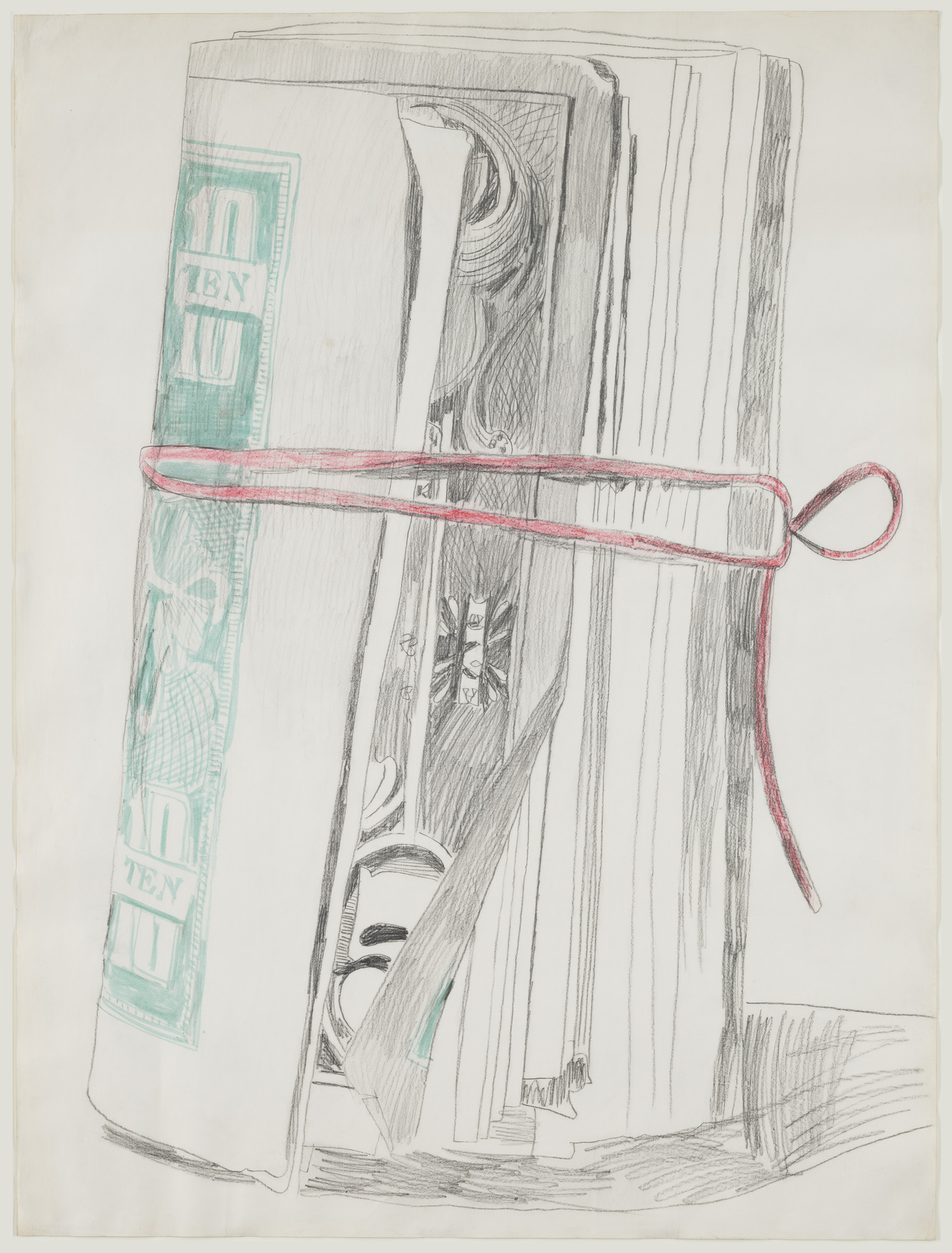 Andy Warhol. Roll of Bills. (1962)