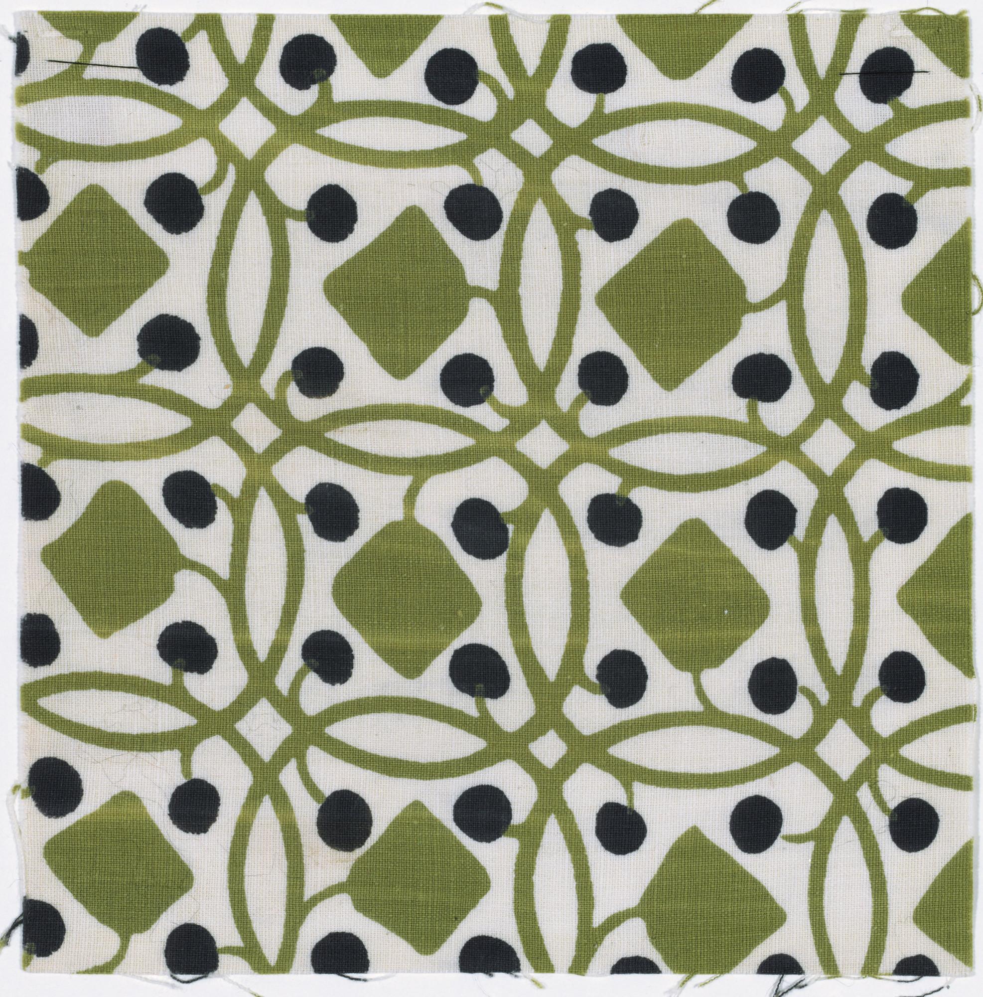 Richard Riemerschmid Drapery Fabric 1908