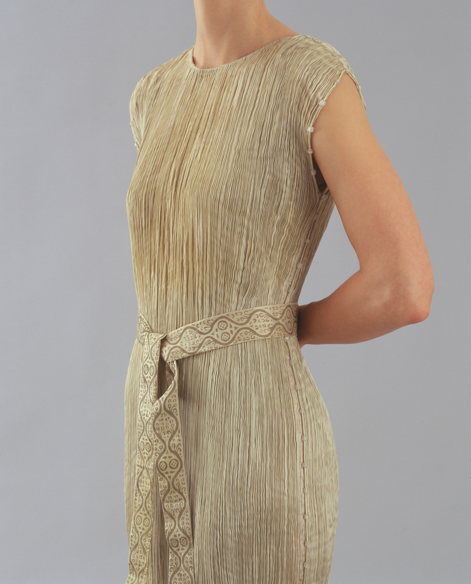 Mariano Fortuny Y Madrazo Delphos Tea Gown With Belt 1907