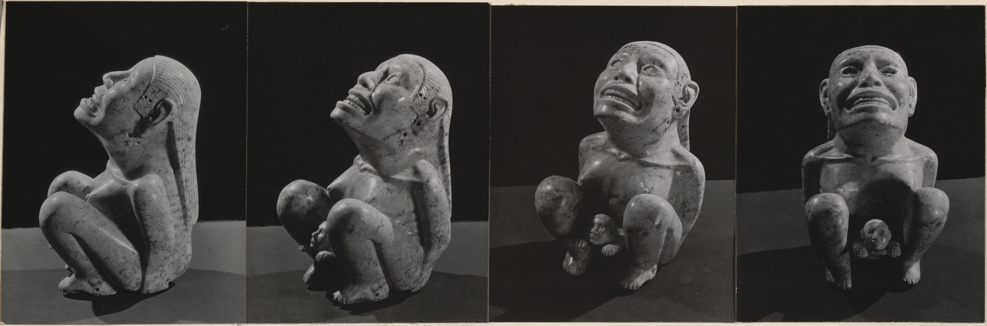 Man Ray (Emmanuel Radnitzky). Statuette of Ixcuina, Mexican Goddess of Maternity. c. 1930