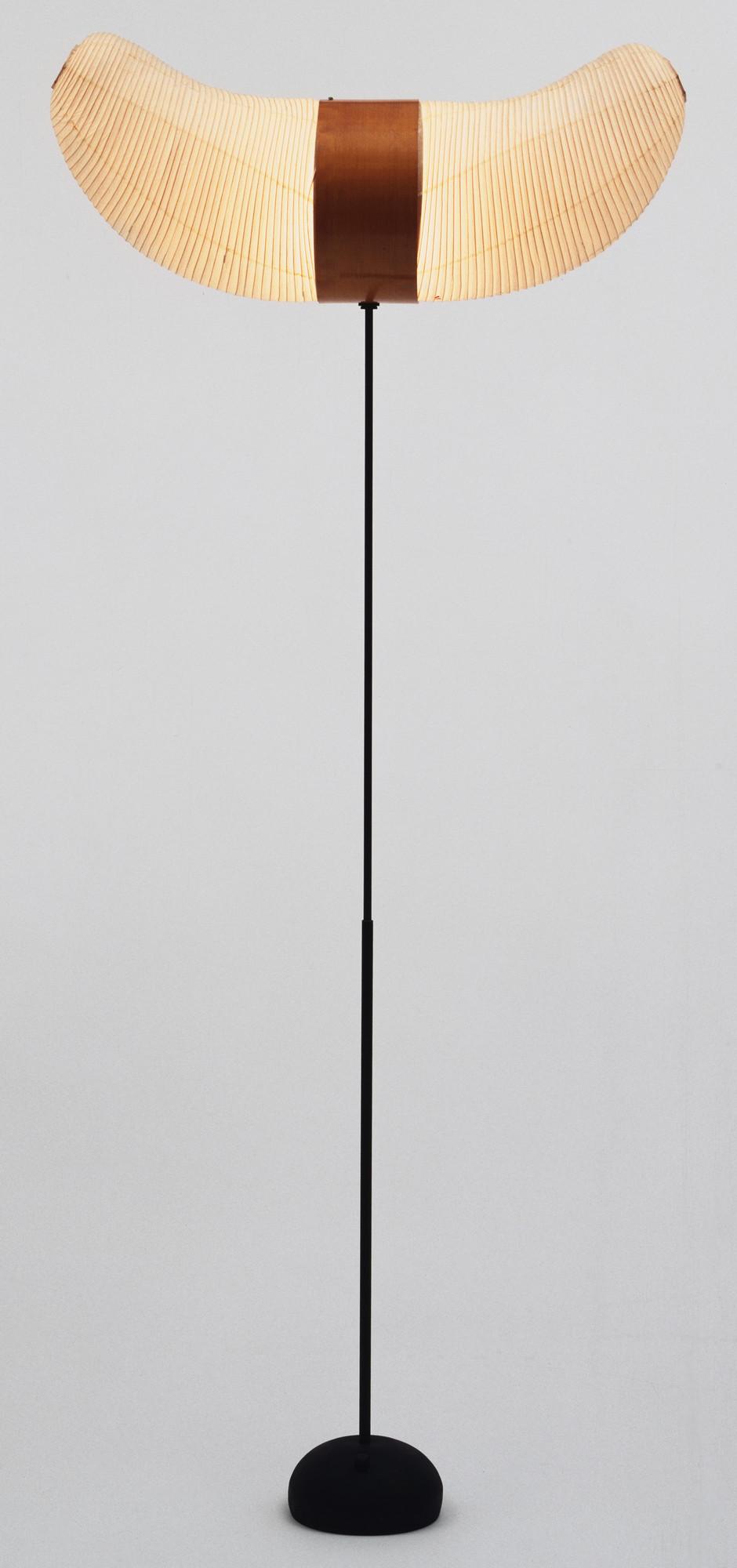 Isamu Noguchi. Akari Floor Lamp (model 33S). c. 1951   MoMA