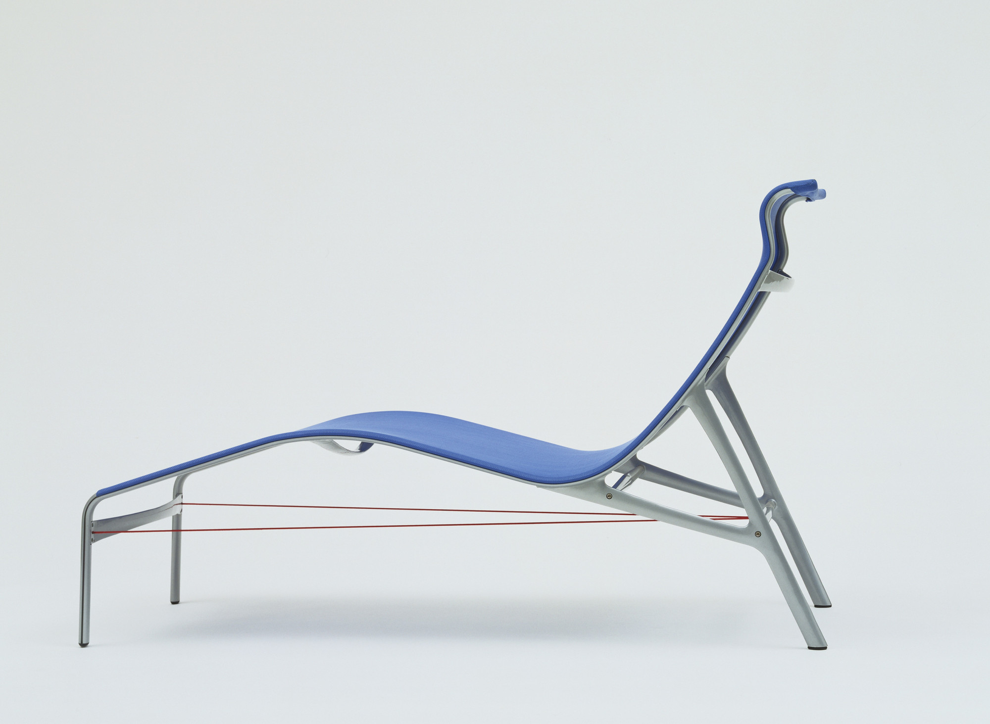 Alberto Meda. Long Frame Chaise Longue. 1994