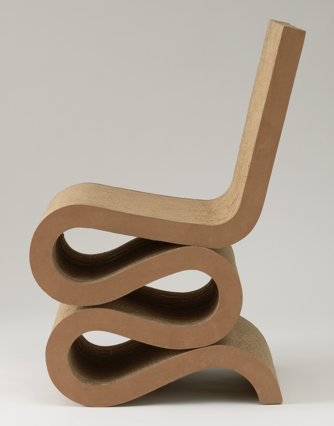 Frank O. Gehry. Easy Edges Side Chair. 1972