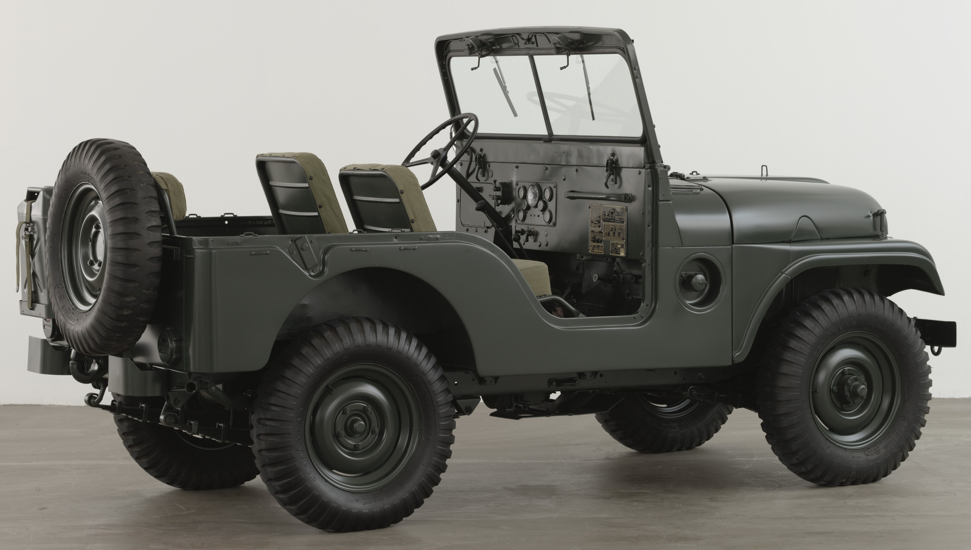 Willys-Overland Motors, Inc., Toledo, Ohio. Truck: Utility 1/4 Ton 4 x 4 (M38A1) Jeep. designed 1952 (this example 1953)