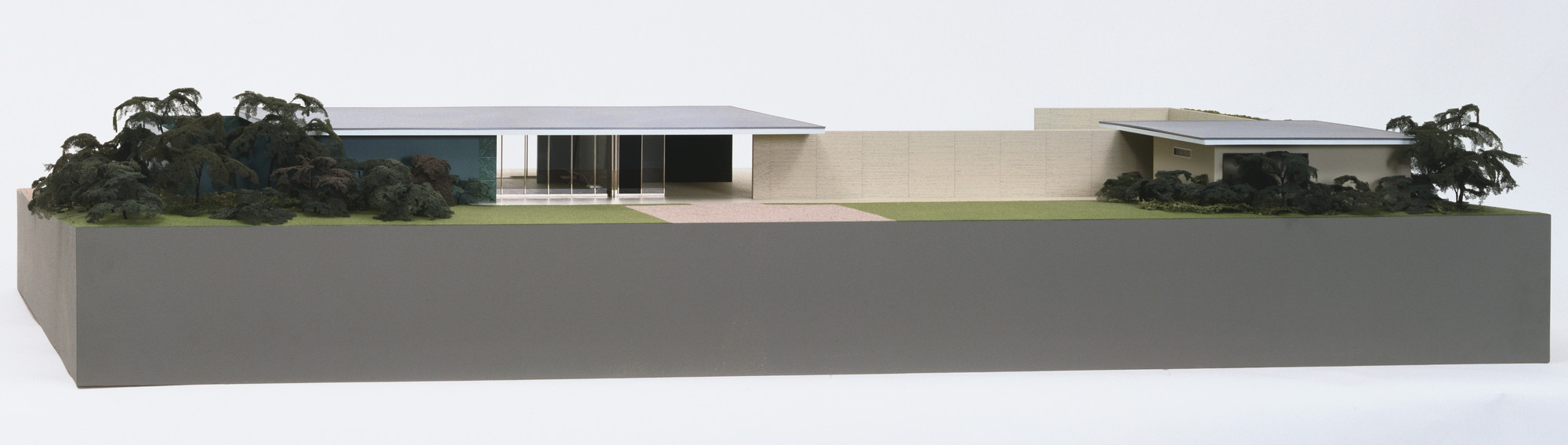 Ludwig Mies van der Rohe. German Pavilion, International Exposition, Barcelona, Spain. 1928-29