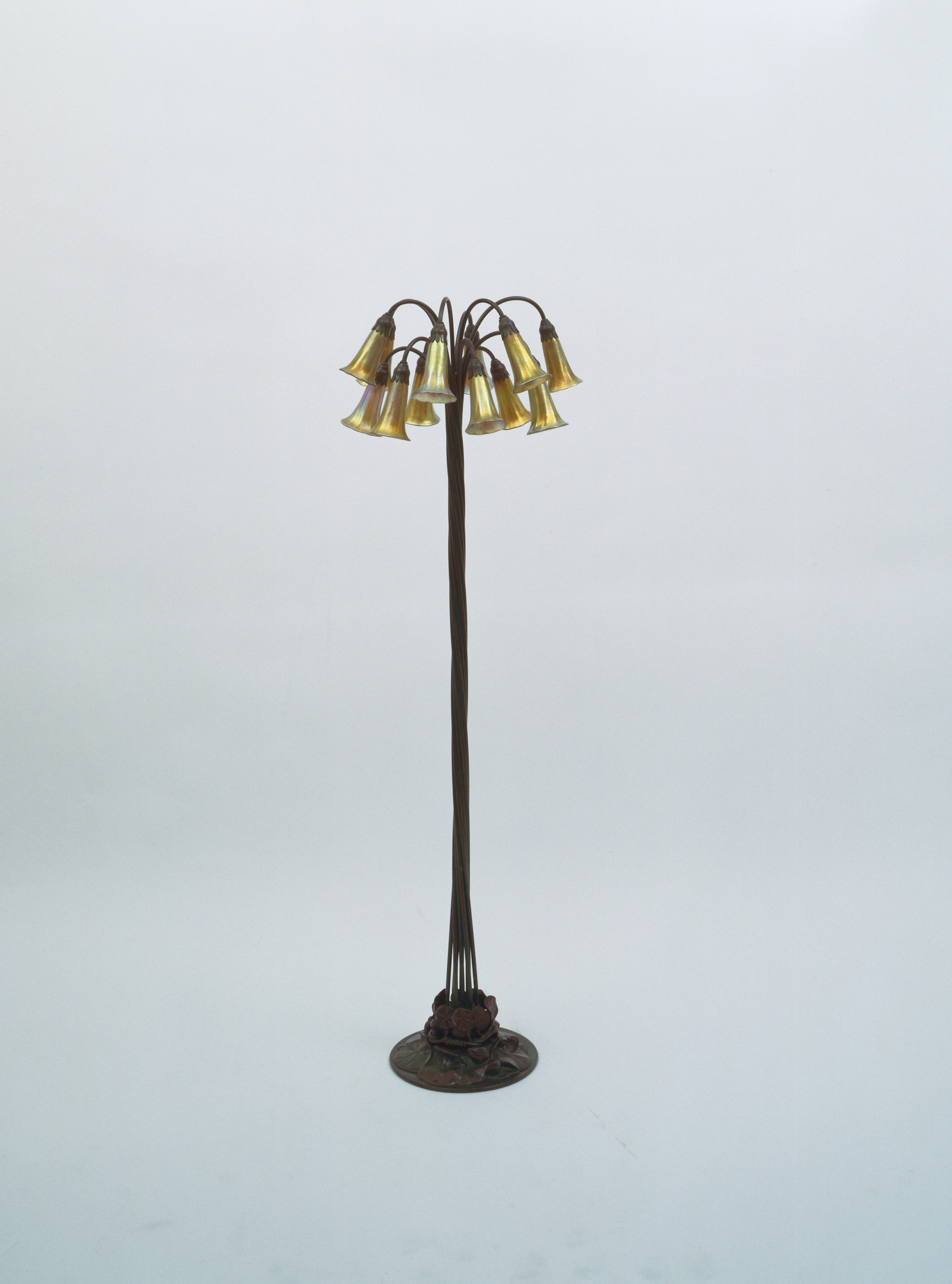 Louis Comfort Tiffany. Floor Lamp. c. 1900