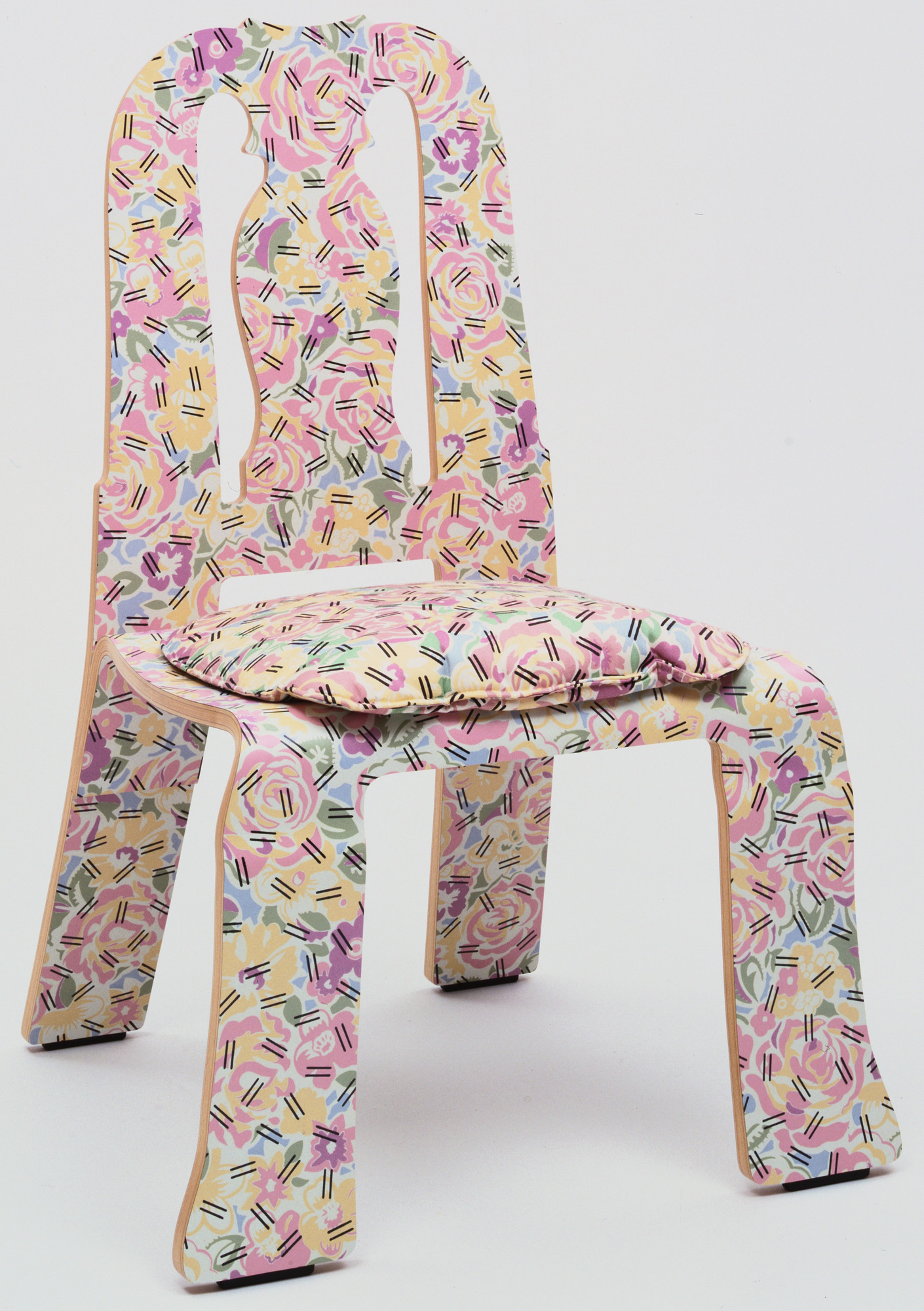 Robert Venturi Denise Scott Brown Queen Anne Side Chair 1983 Moma
