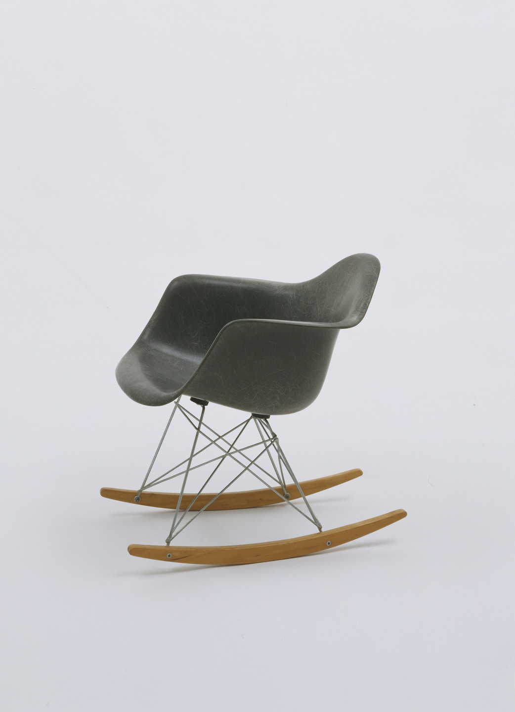 Charles Eames, Ray Eames. Rocking Armchair (model RAR). 1948-50