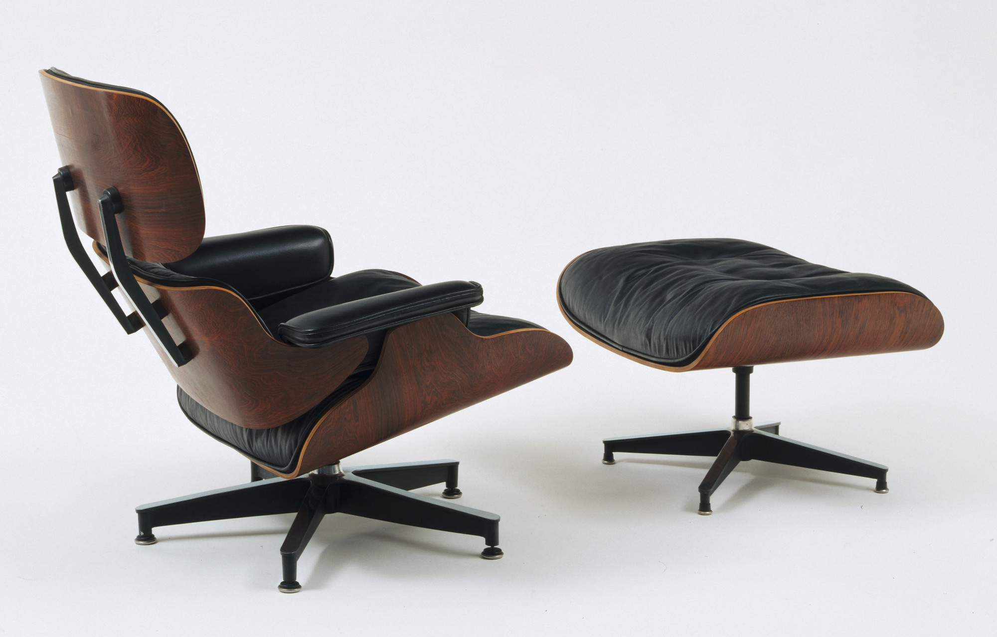 Pleasant Charles Eames Ray Eames Lounge Chair And Ottoman 1956 Moma Theyellowbook Wood Chair Design Ideas Theyellowbookinfo