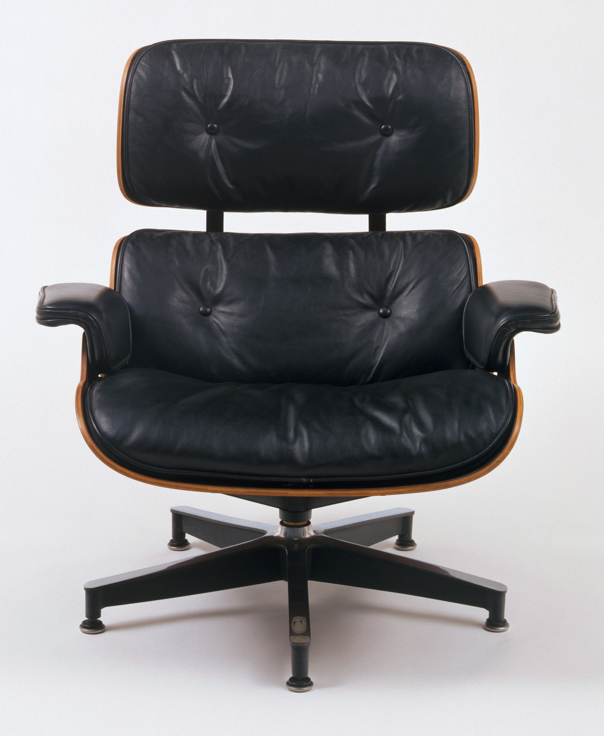 Charles Eames, Ray Eames. Lounge Chair and Ottoman. 1956