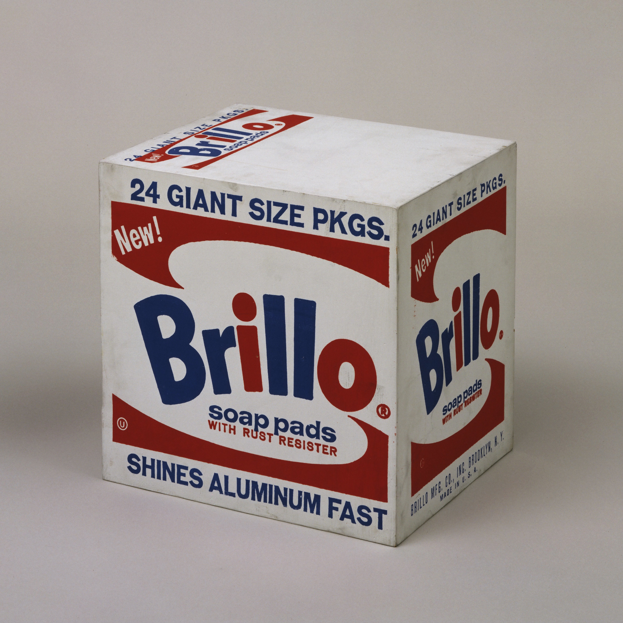 Andy Warhol. Brillo Box (Soap Pads). 1964
