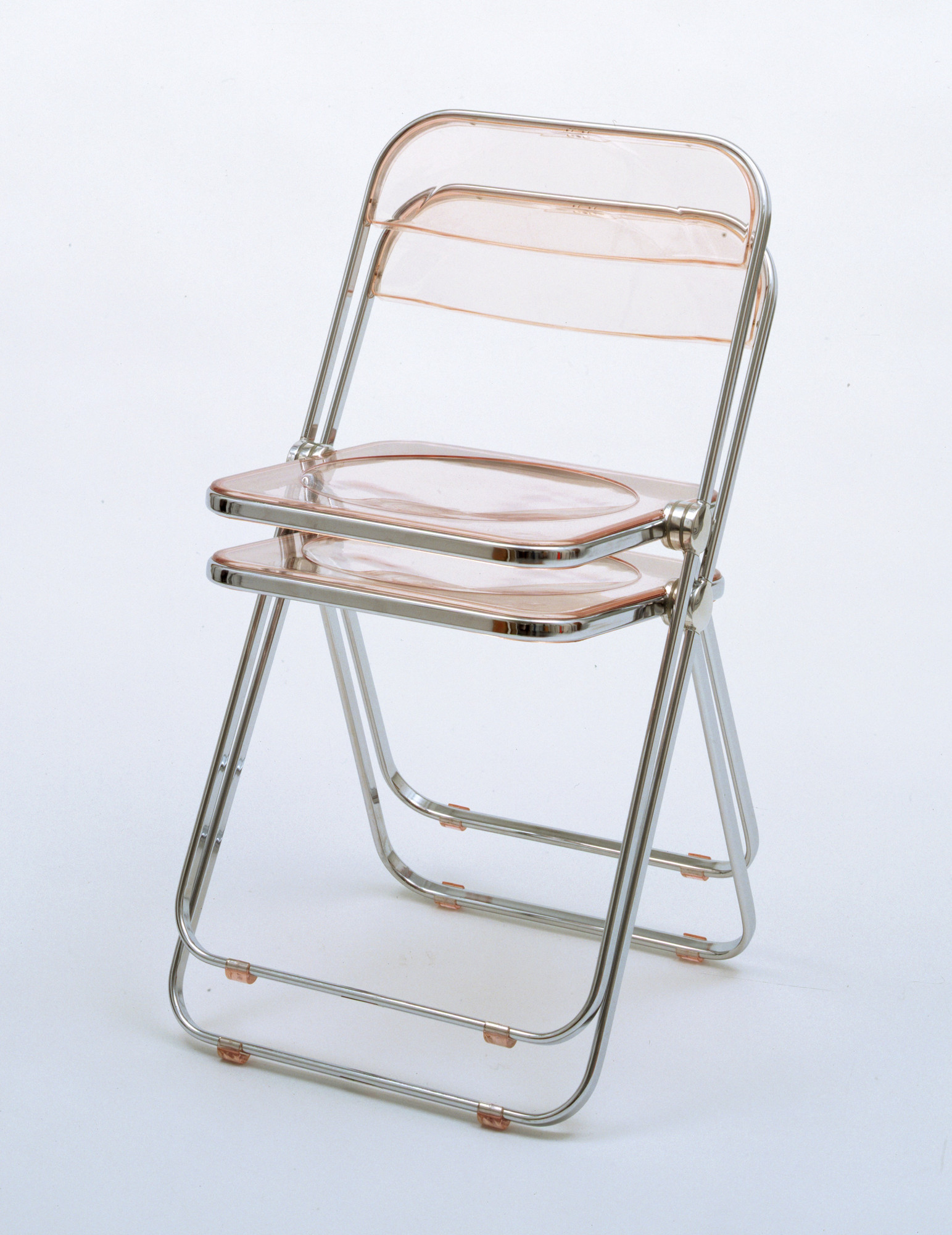 Giancarlo Piretti Plia Folding and Stacking Chair 1967