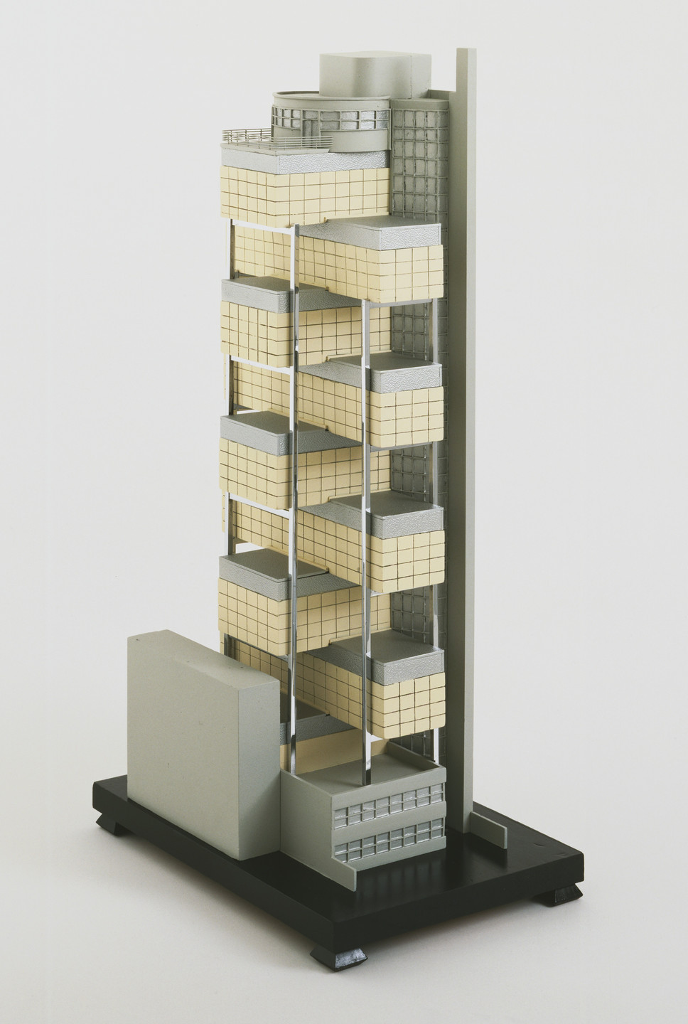George Howe, William Lescaze. The Museum of Modern Art, New York (Scheme 4, First Variation). 1930