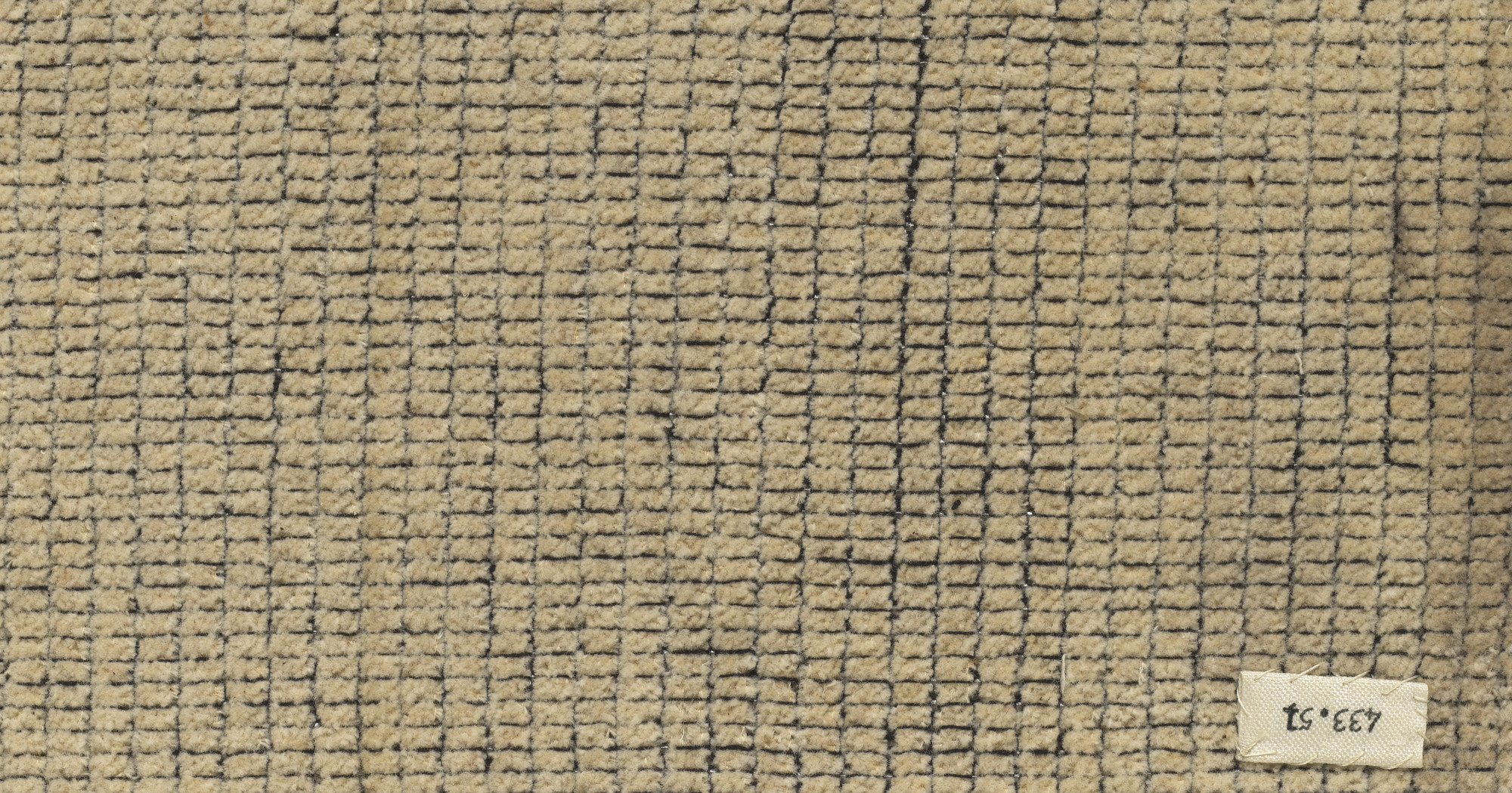 Anni Albers. Wall-Covering Material for the Bundesschule Auditorium in Bernau, Germany. 1929