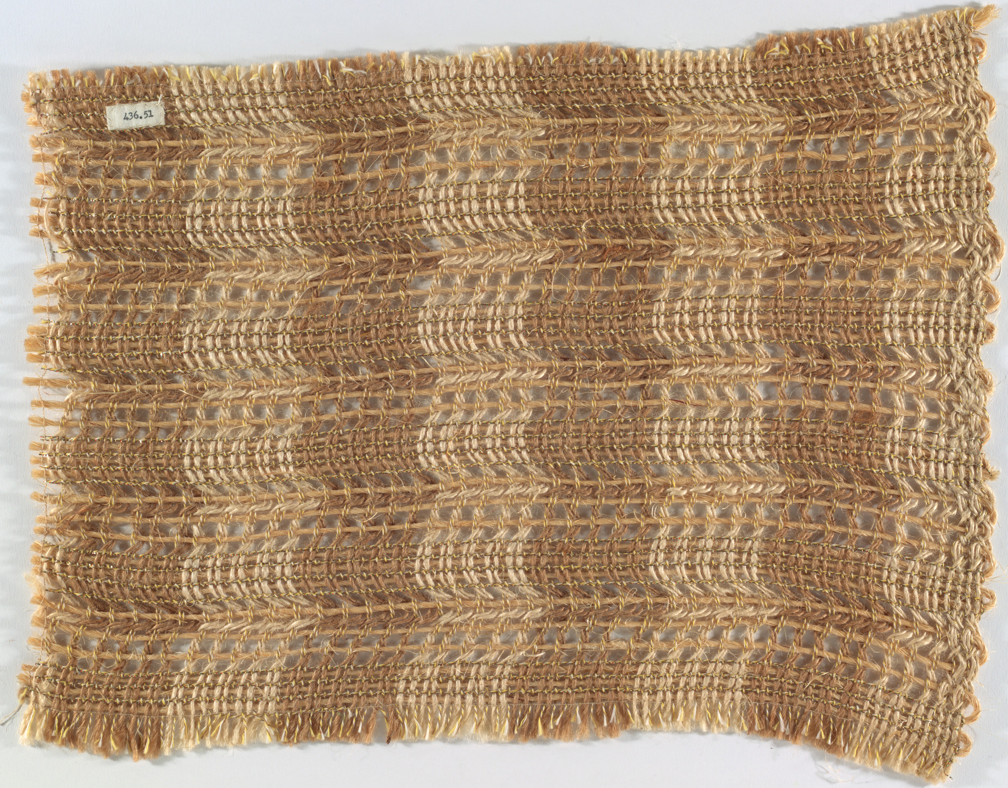 Anni Albers. Room-Divider Fabric Sample. 1949