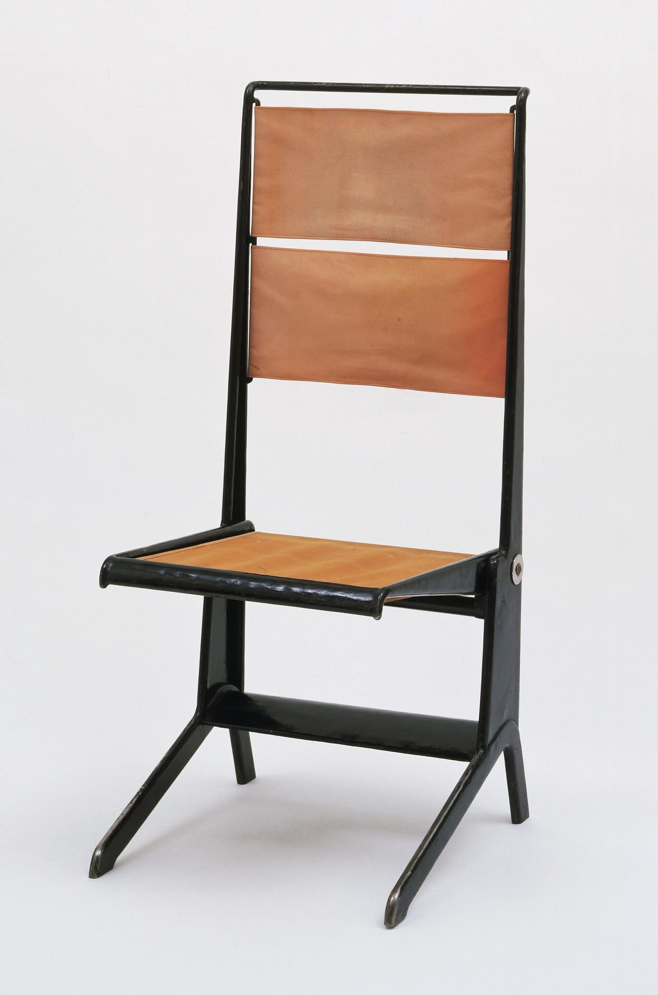 Jean Prouvé Pierre Missey Folding Chair 1930 Moma