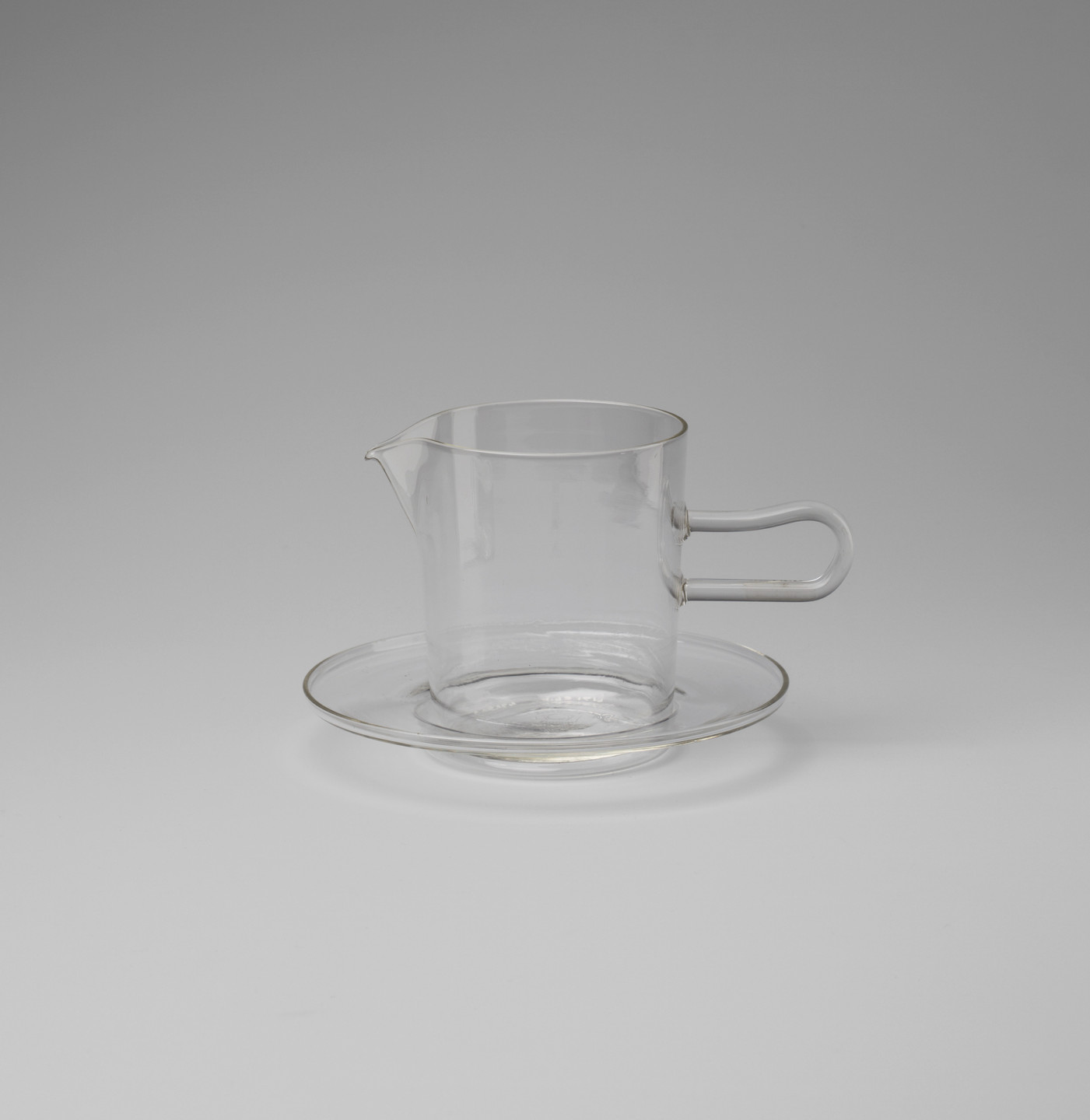 Wilhelm Wagenfeld. Pitcher and Saucer. 1932
