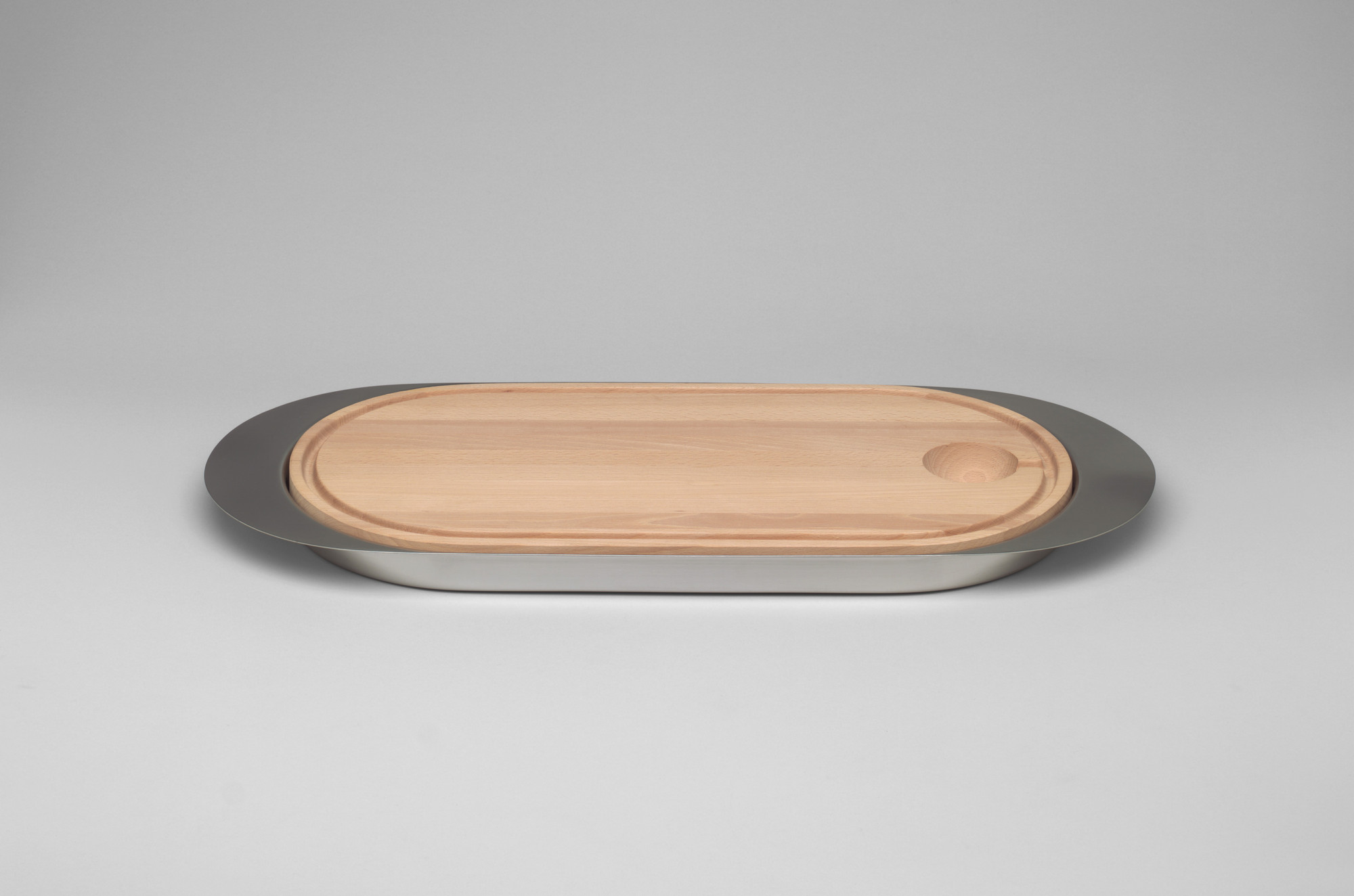 Arne Jacobsen. Multi-set Serving Dish and Carving Board. 1970