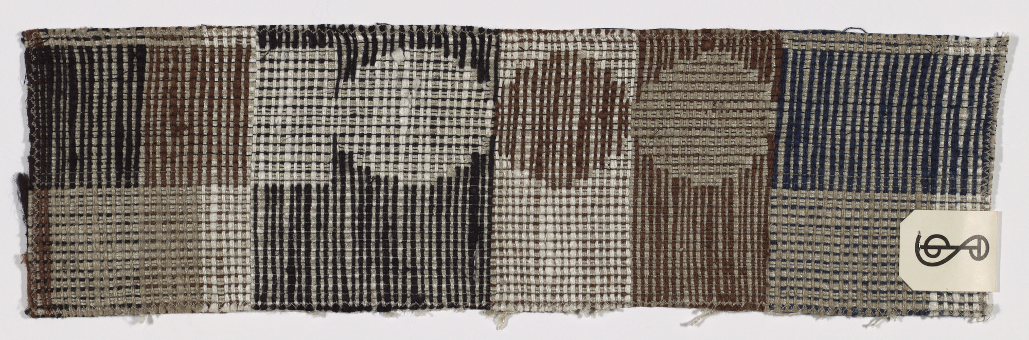 Gunta Stölzl. Fabric Sample. c. 1932-66