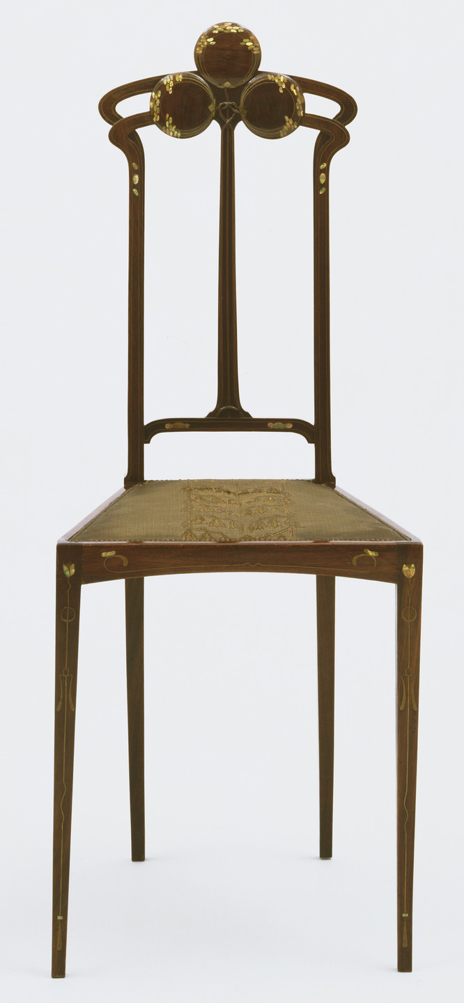 Carlo Zen. Side Chair. c. 1905