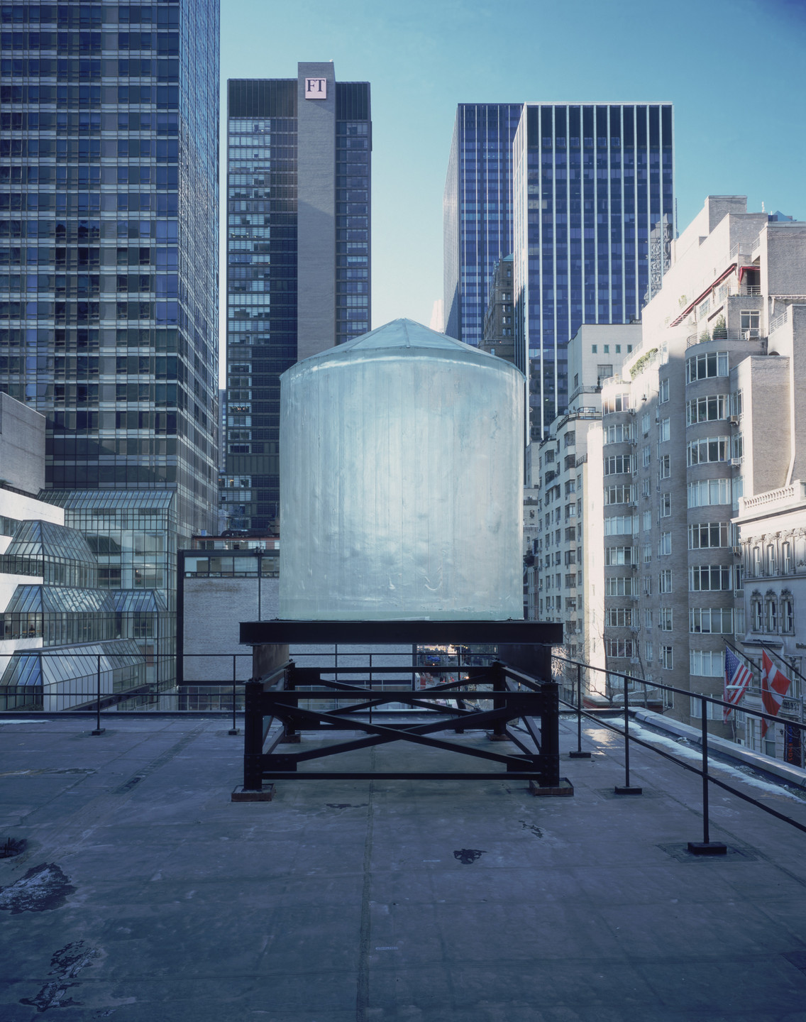 Rachel Whiteread. Water Tower. 1998