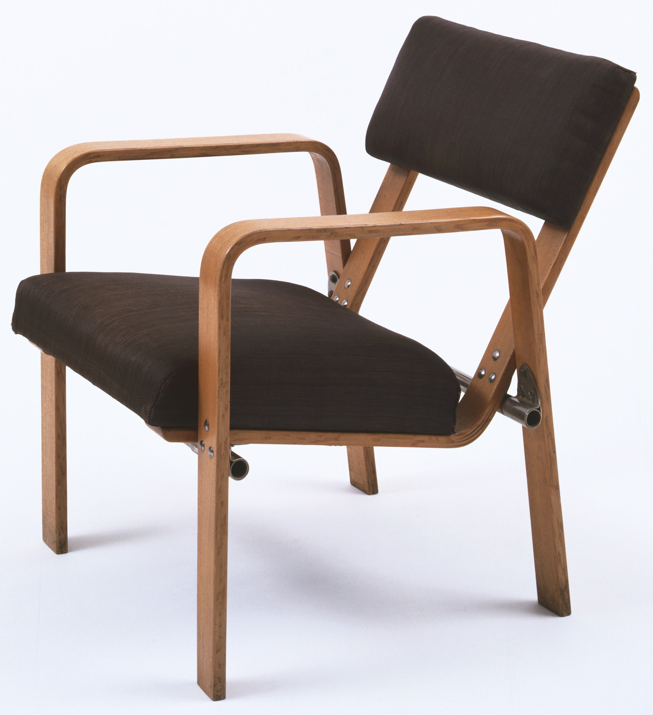 Josef Albers Armchair Model Ti 244 1929 Moma