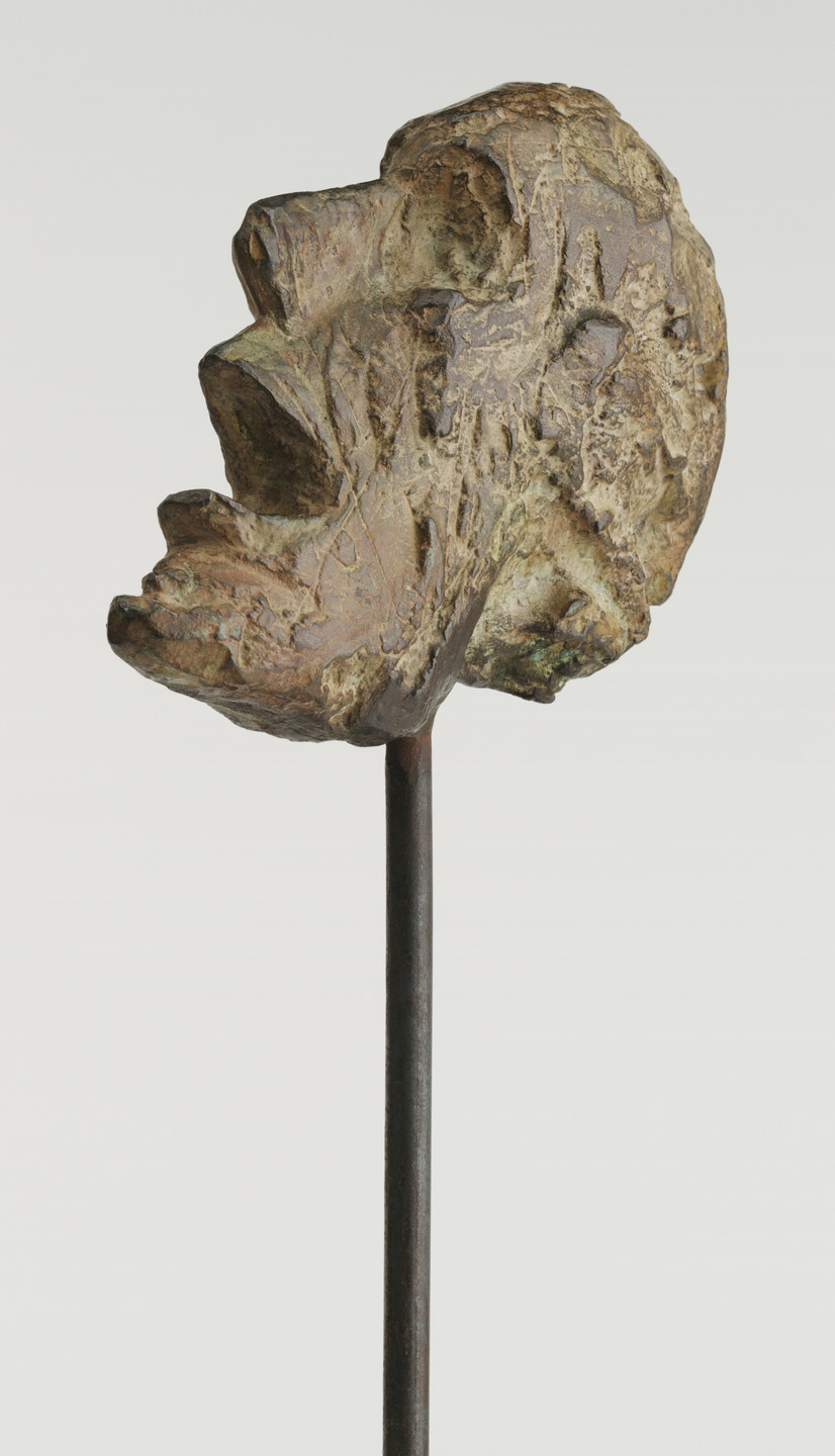 Alberto Giacometti. Head of a Man on a Rod. 1947