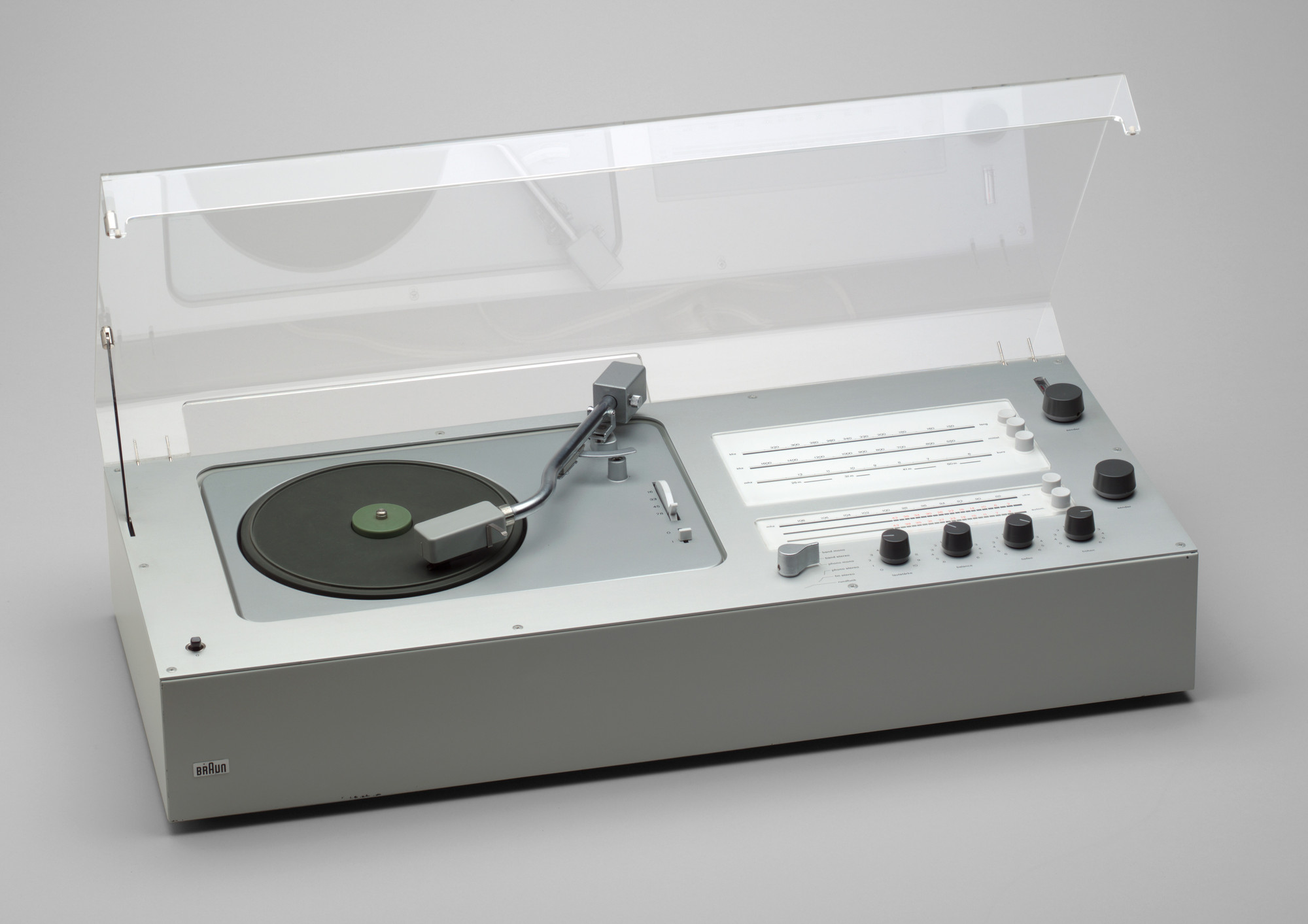 Dieter Rams. Audio 1 Radio-Phonograph (model TC 40). 1962