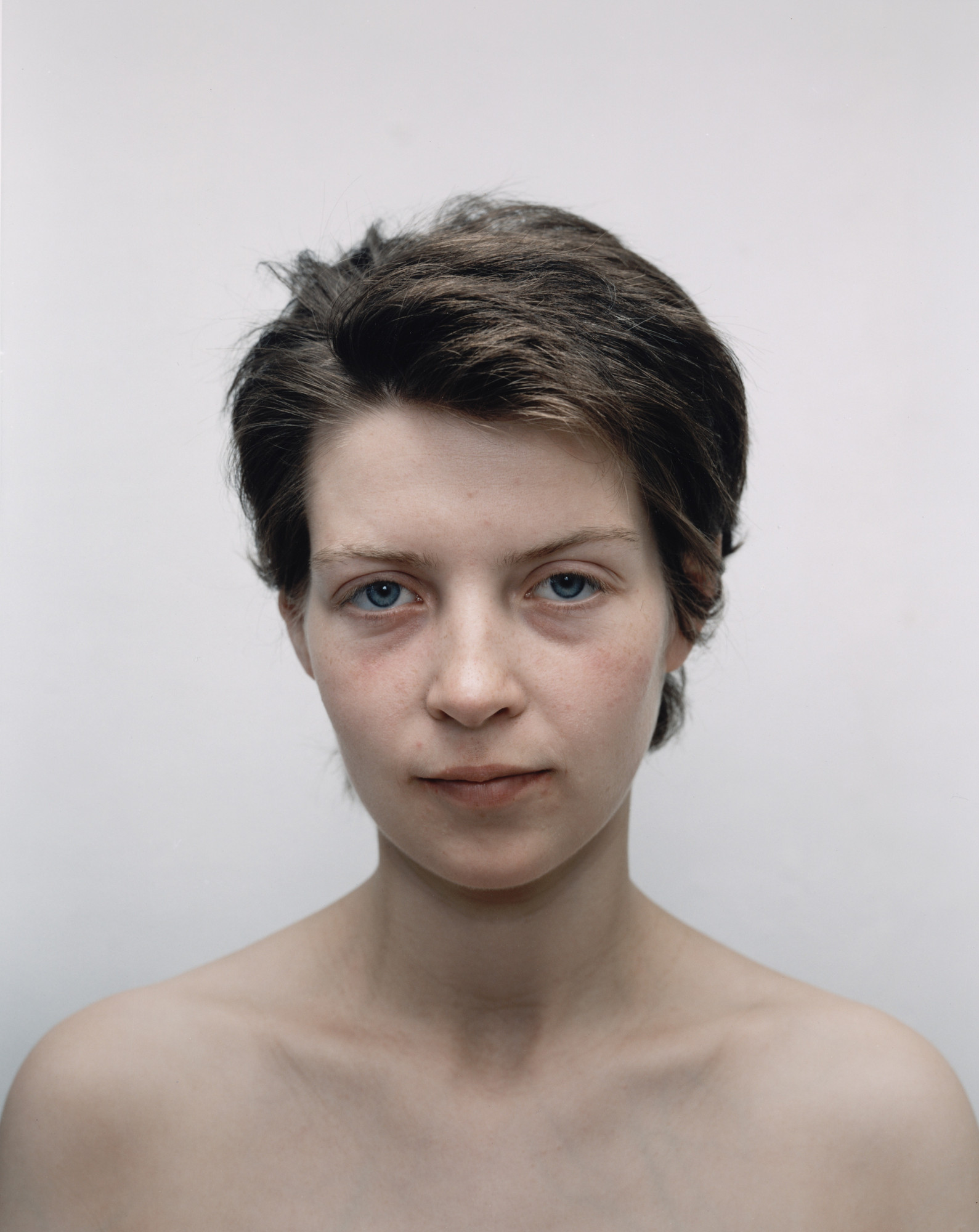 Rineke Dijkstra. Tia, Amsterdam, the Netherlands, 14 November 1994, Tia, Amsterdam, the Netherlands, 23 June 1994. 1994
